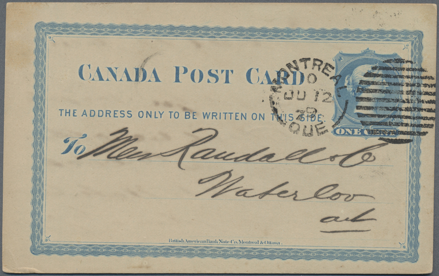 Lot 13064 - Canada - Ganzsachen  -  Auktionshaus Christoph Gärtner GmbH & Co. KG Sale #48 collections Overseas  Airmail / Ship mail & Thematics