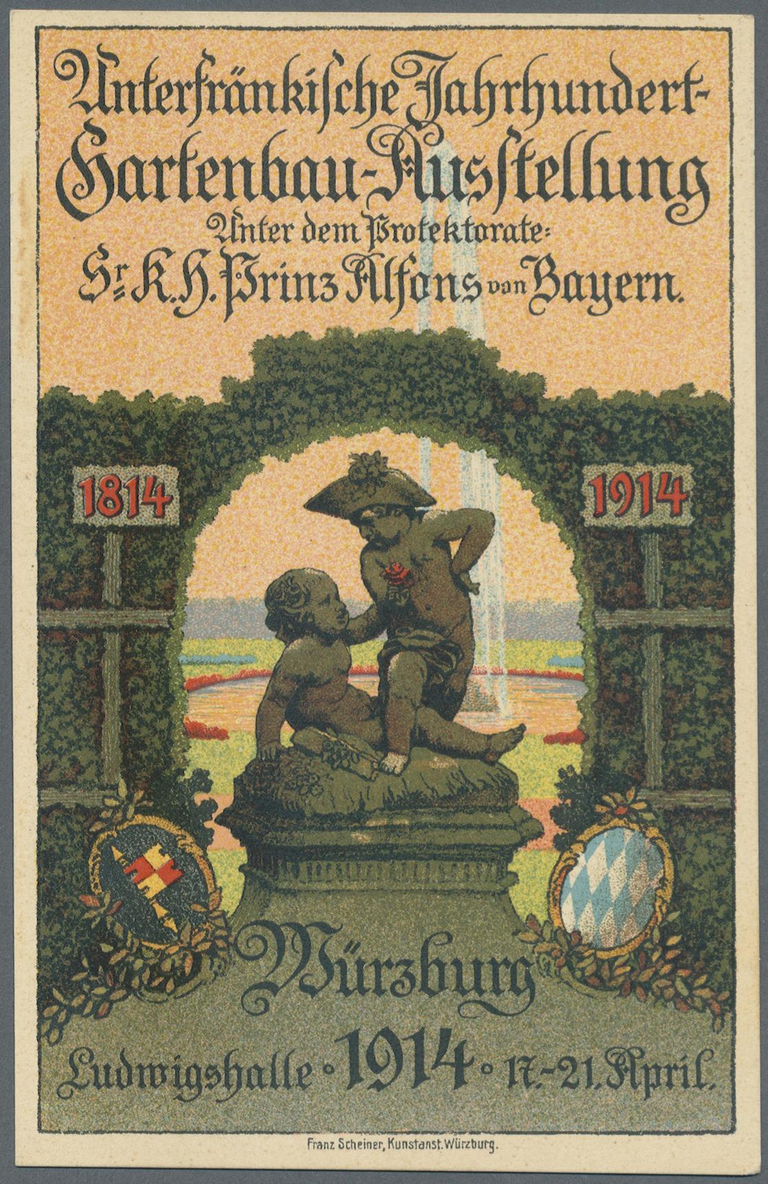 Lot 36211 - bayern - ganzsachen  -  Auktionshaus Christoph Gärtner GmbH & Co. KG Sale #44 Collections Germany