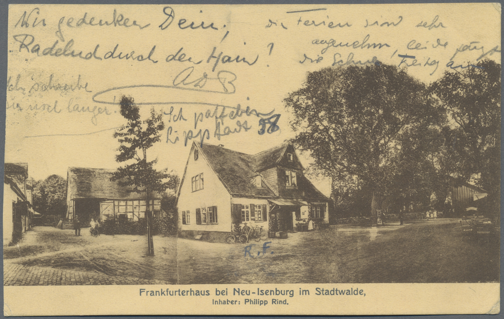 Lot 04543 - Ansichtskarten: Hessen  -  Auktionshaus Christoph Gärtner GmbH & Co. KG Sale #48 The Coins & The Picture Post Cards