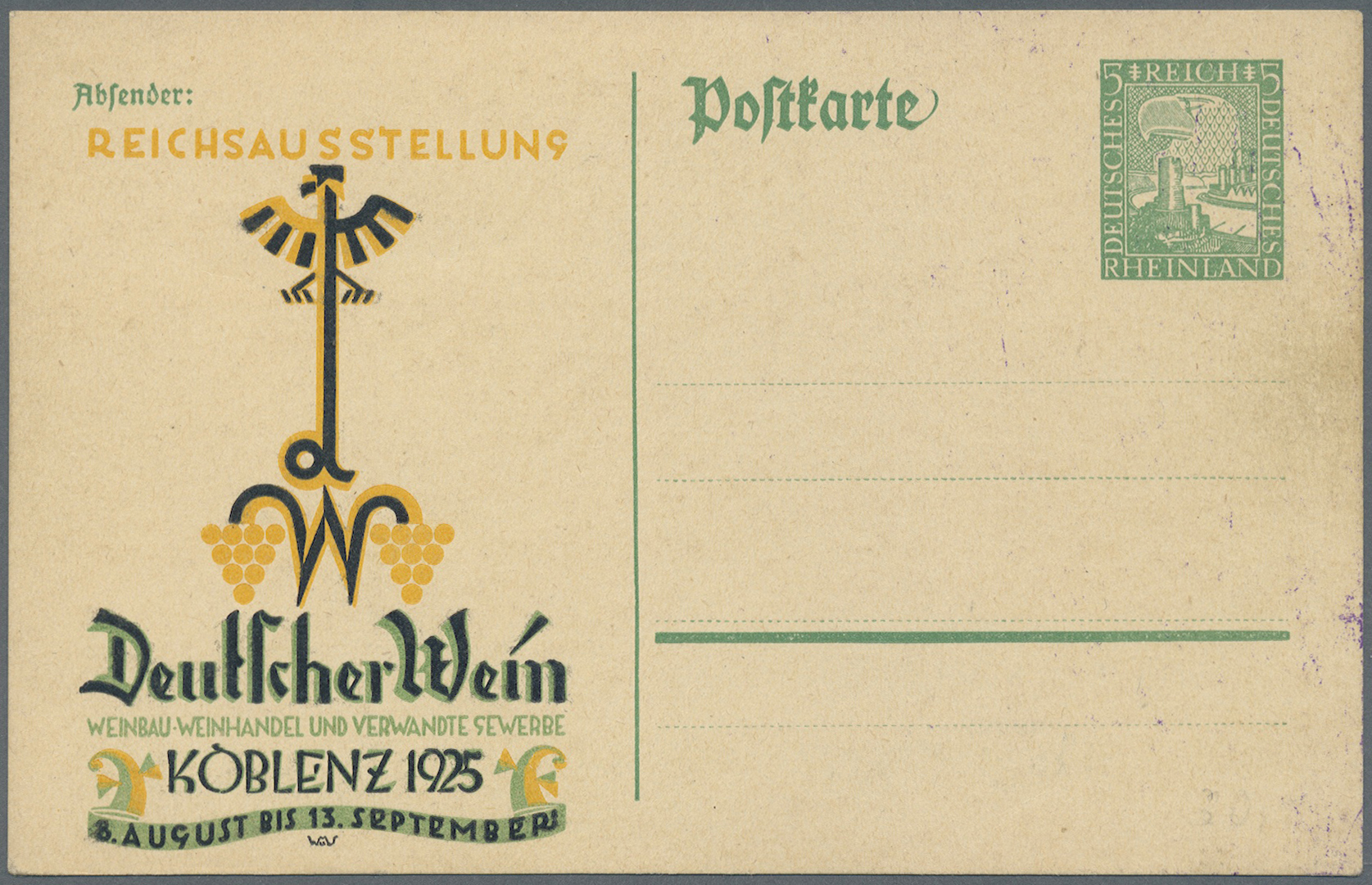 Lot 37140 - Deutsches Reich - Privatganzsachen  -  Auktionshaus Christoph Gärtner GmbH & Co. KG Collections Germany,  Collections Supplement, Surprise boxes #39 Day 7