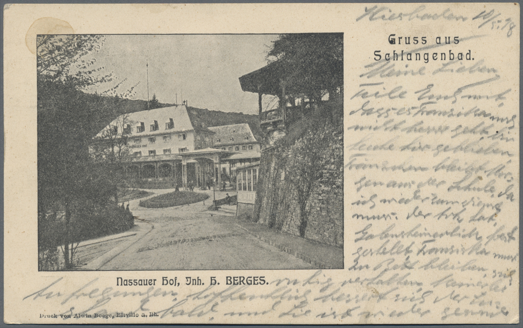 Lot 04550 - Ansichtskarten: Hessen  -  Auktionshaus Christoph Gärtner GmbH & Co. KG Sale #48 The Coins & The Picture Post Cards