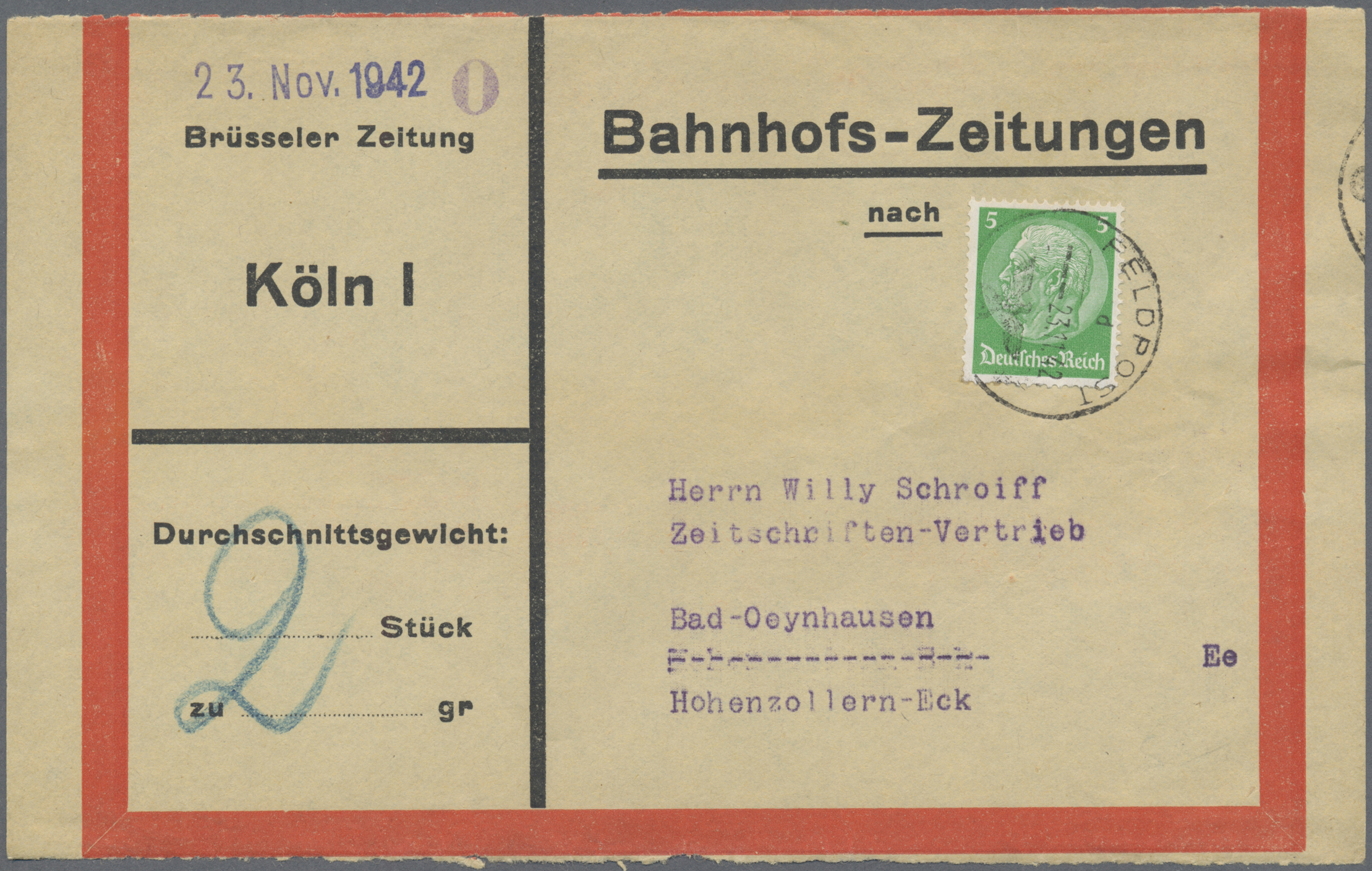 Lot 29009 - feldpost 2. weltkrieg  -  Auktionshaus Christoph Gärtner GmbH & Co. KG Sale #46 Gollcetions Germany - including the suplement