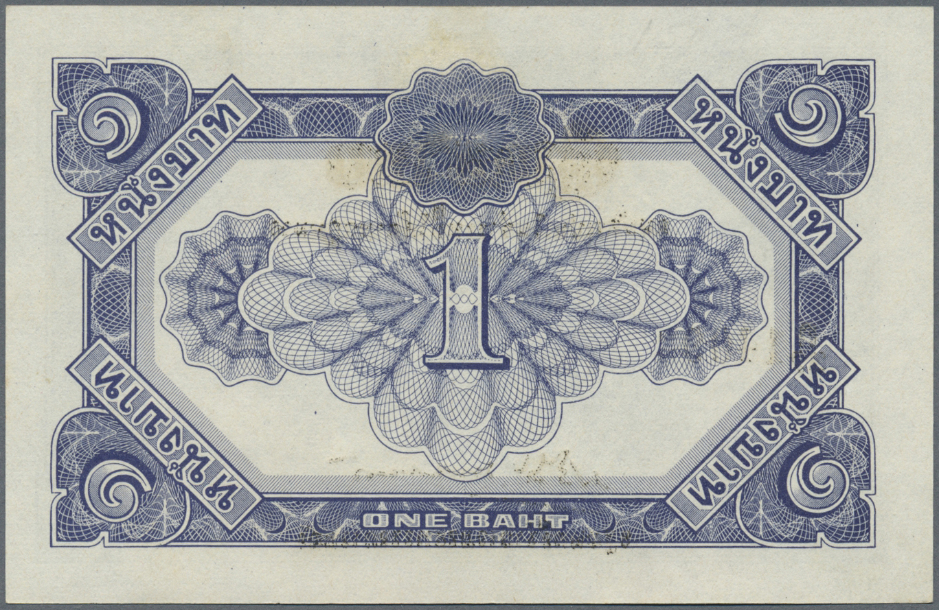Lot 2013 - Thailand | Banknoten  -  Auktionshaus Christoph Gärtner GmbH & Co. KG Banknotes & Coins Auction #39 Day 2
