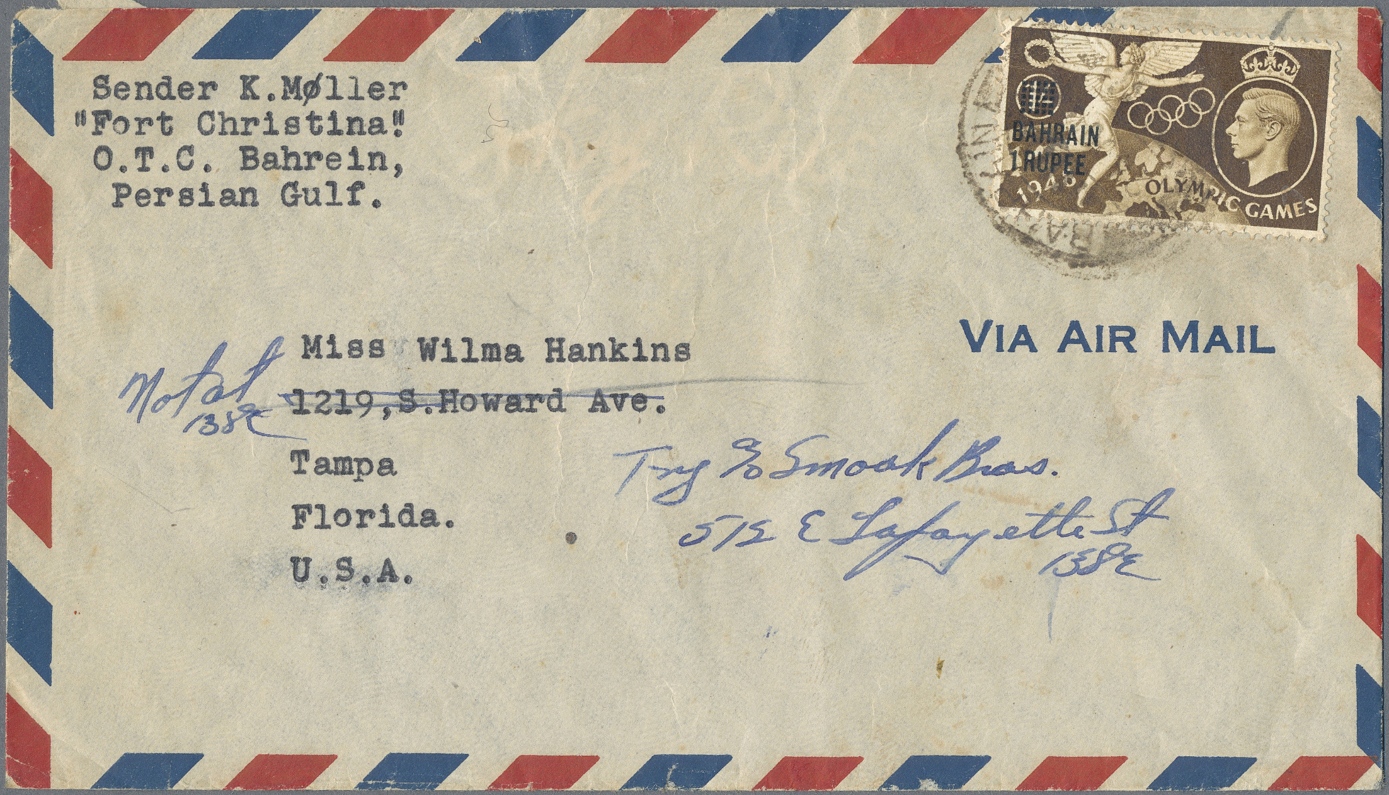 Lot 38041 - bahrain  -  Auktionshaus Christoph Gärtner GmbH & Co. KG Sale #43 Collection Peter Zgonc - German Occupations WWII | Day 7