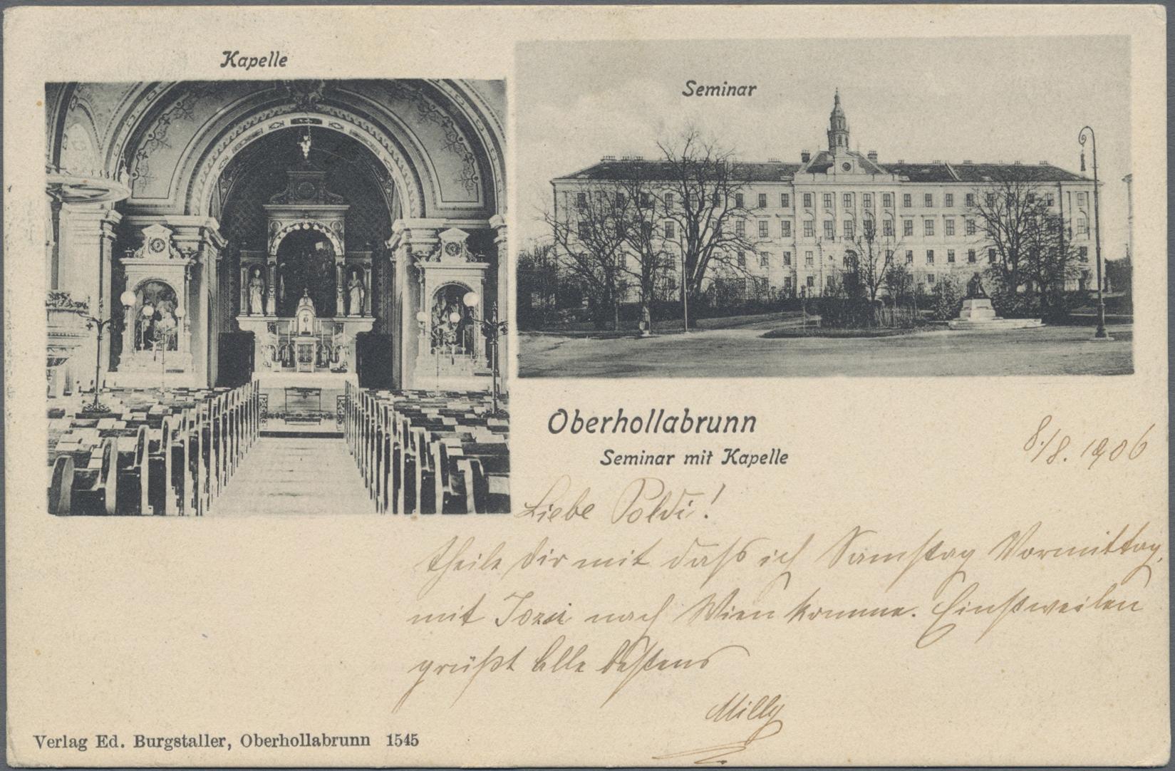 Lot 04150 - Ansichtskarten: Österreich  -  Auktionshaus Christoph Gärtner GmbH & Co. KG Sale #48 The Coins & The Picture Post Cards