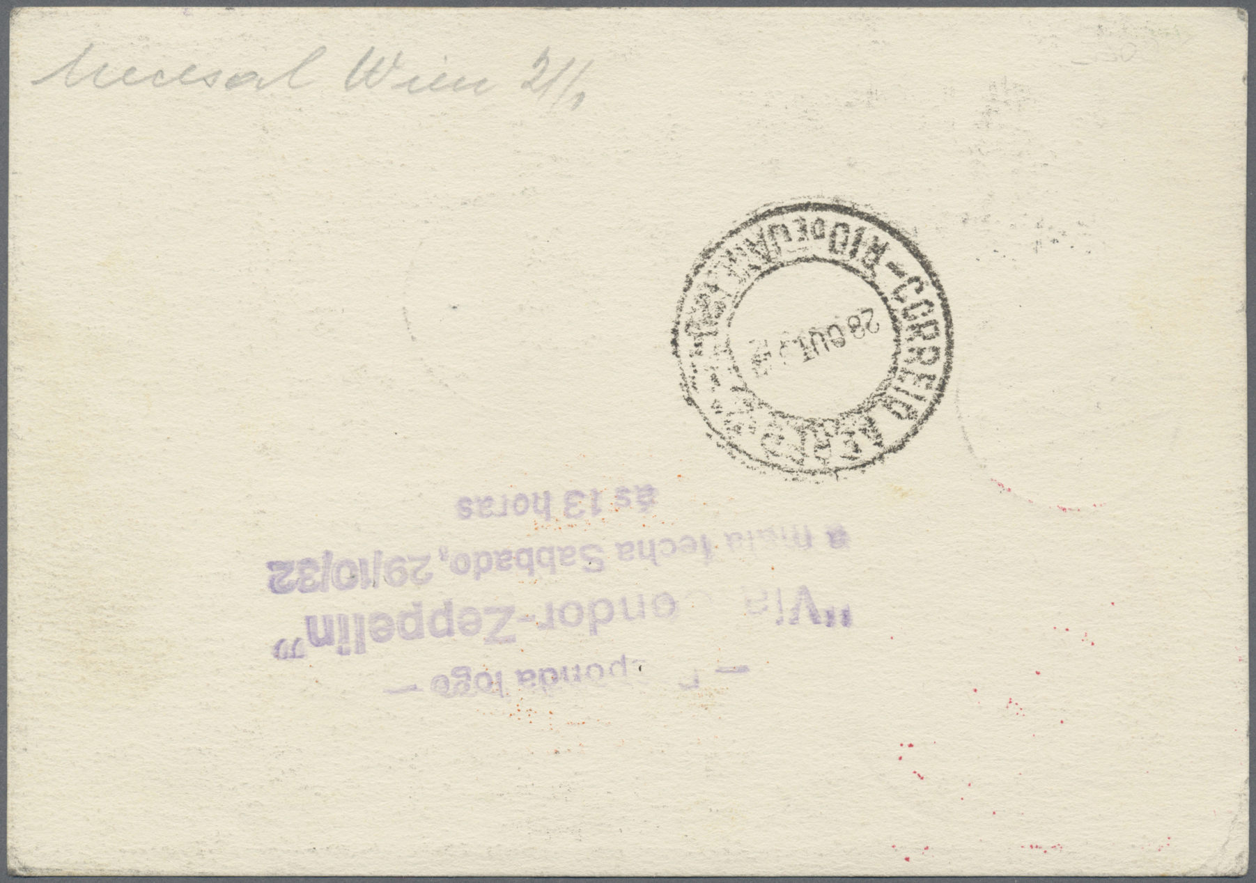 Lot 12639 - Österreich - Zeppelinpost  -  Auktionshaus Christoph Gärtner GmbH & Co. KG Sale #46 Single lots Asia, Thematics, Overseas, Europe …