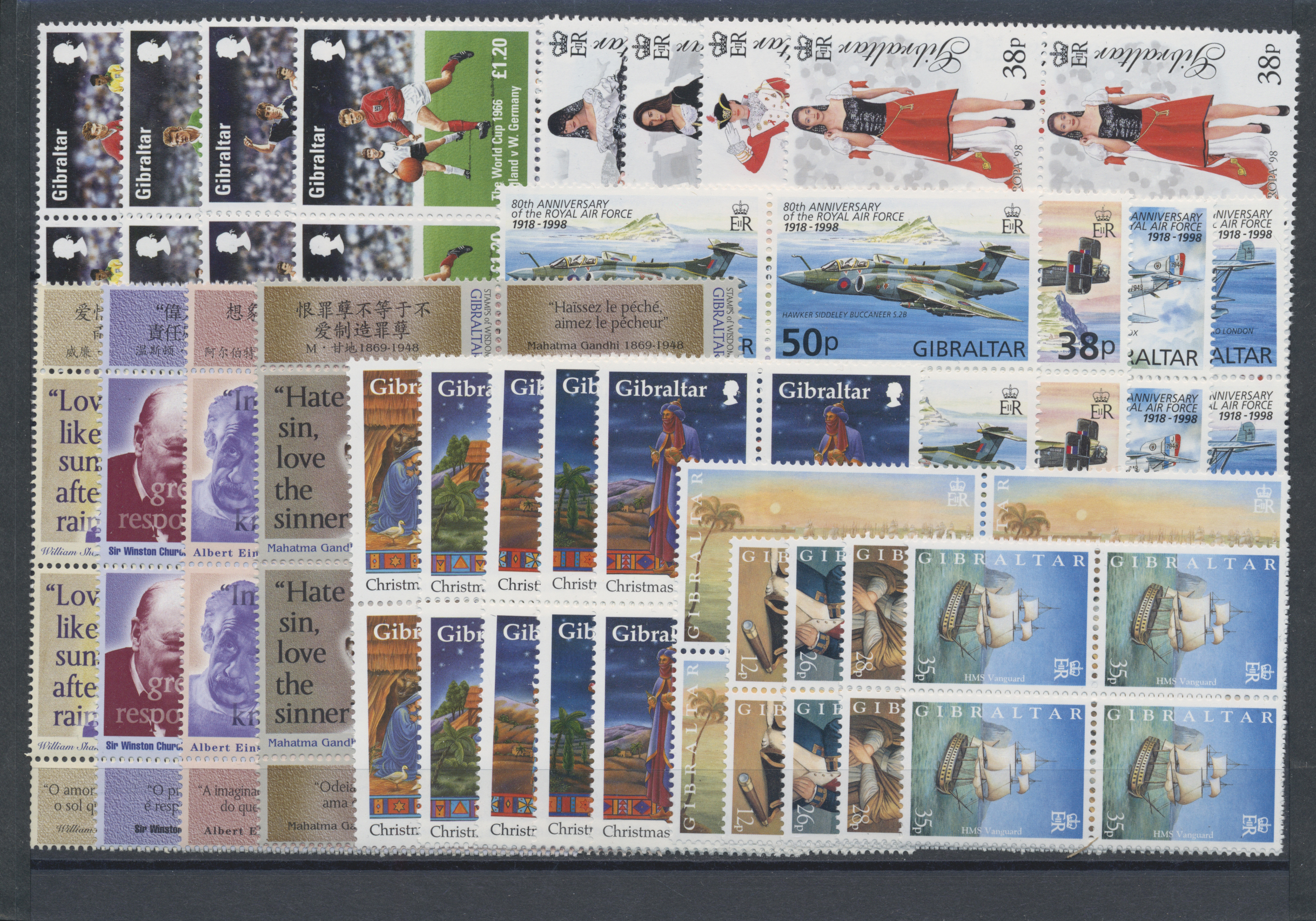Lot 01808 - Gibraltar  -  Auktionshaus Christoph Gärtner GmbH & Co. KG Special Auction 26.- 28. May 2020 Day 2 Collections Part 2