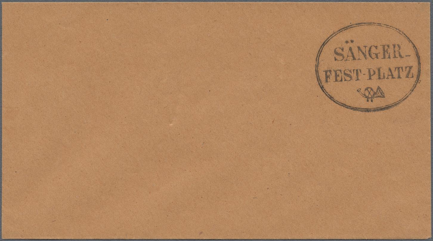 Lot 10527 - Sachsen - Ortsstempel  -  Auktionshaus Christoph Gärtner GmbH & Co. KG Sale #48 The Single Lots Philatelie