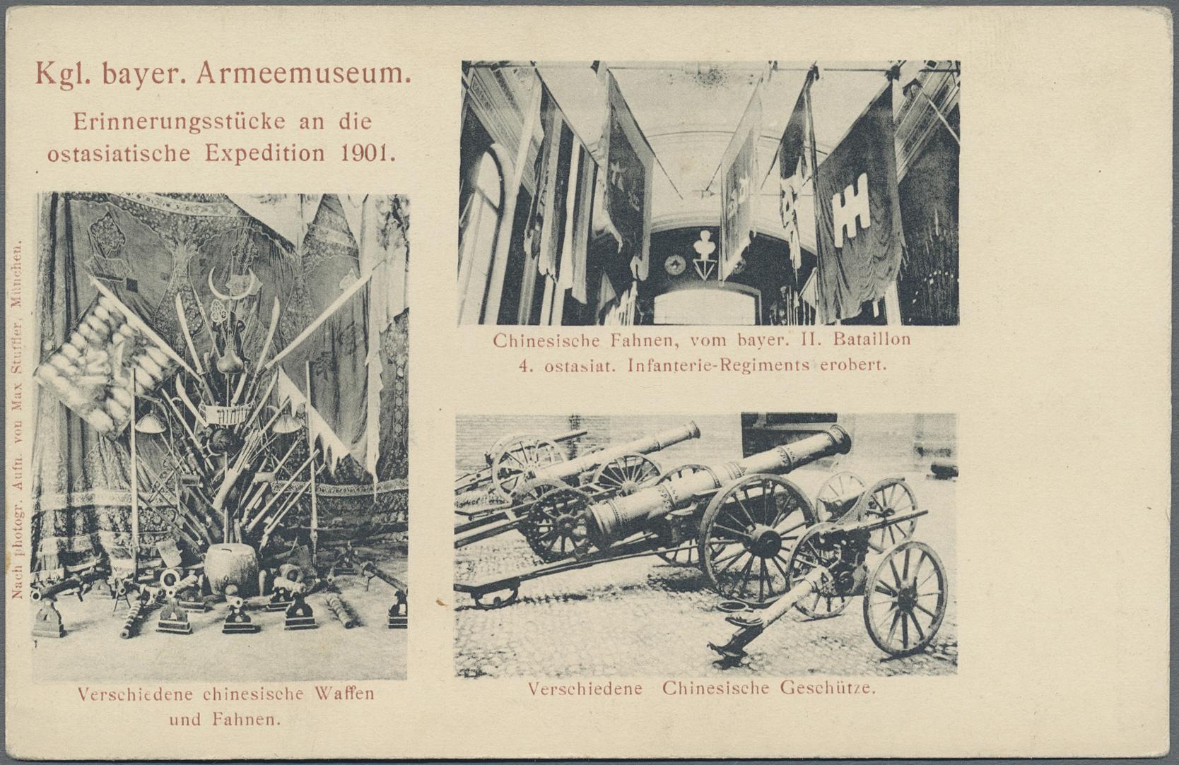 Lot 04359 - Ansichtskarten: Bayern  -  Auktionshaus Christoph Gärtner GmbH & Co. KG Special auction
