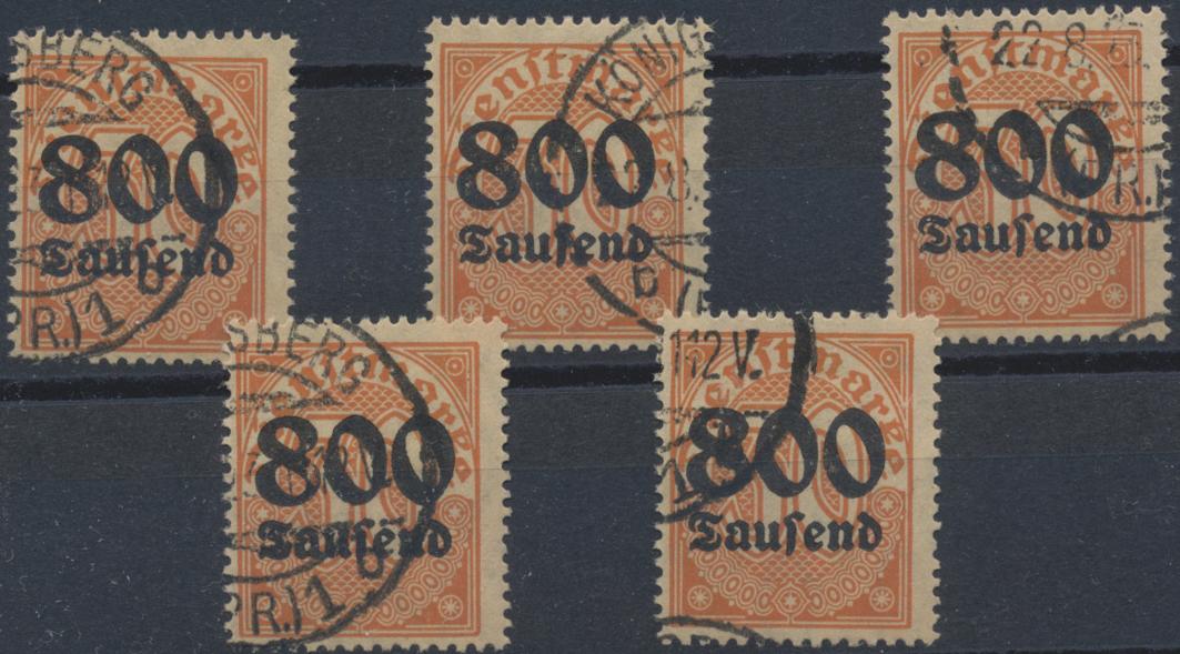 Lot 36795 - Deutsches Reich - Dienstmarken  -  Auktionshaus Christoph Gärtner GmbH & Co. KG Sale #44 Collections Germany