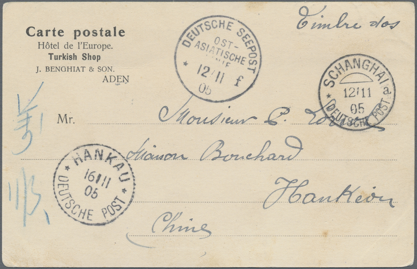 Lot 05001 - aden  -  Auktionshaus Christoph Gärtner GmbH & Co. KG Sale #49 Single lots Asia, Thematics, Oversea, Europe, Old German States, Third Reich, German Colonies and the Federal Republic of Germany
