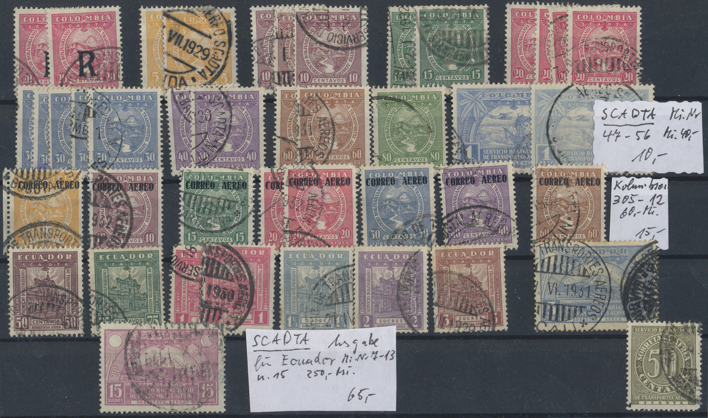Lot 15003 - übersee  -  Auktionshaus Christoph Gärtner GmbH & Co. KG Sale #48 collections Overseas  Airmail / Ship mail & Thematics