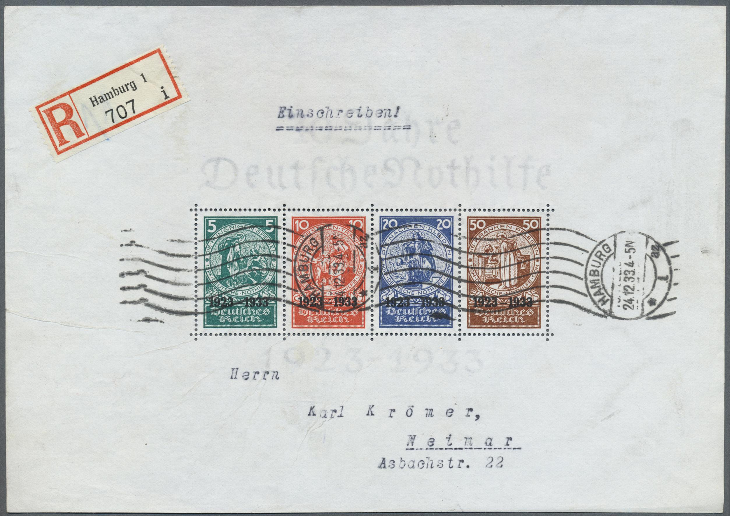 Lot 17423 - Deutsches Reich - 3. Reich  -  Auktionshaus Christoph Gärtner GmbH & Co. KG Sale #45- GERMANY