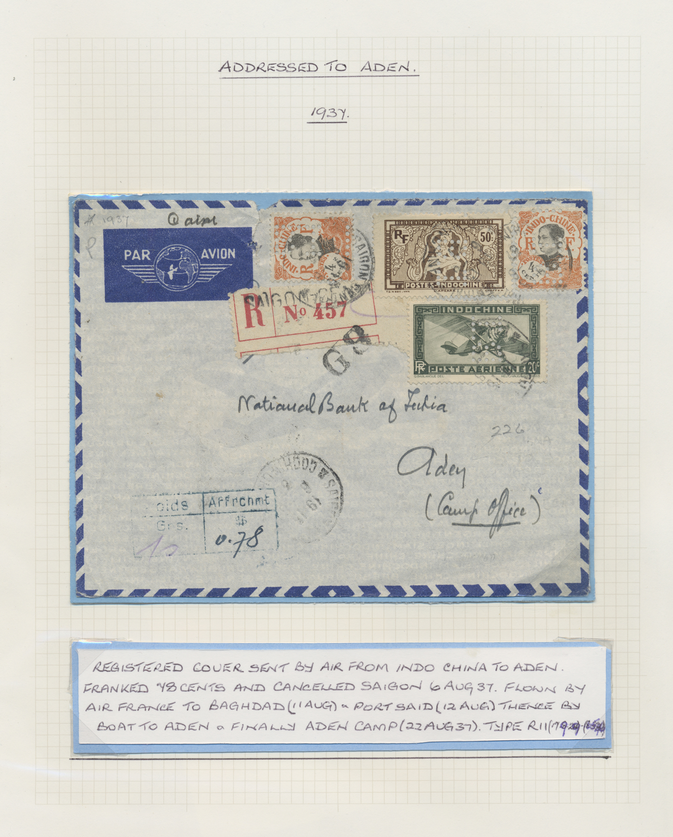 Lot 26603 - aden  -  Auktionshaus Christoph Gärtner GmbH & Co. KG Sale #46 Gollcetions Germany - including the suplement