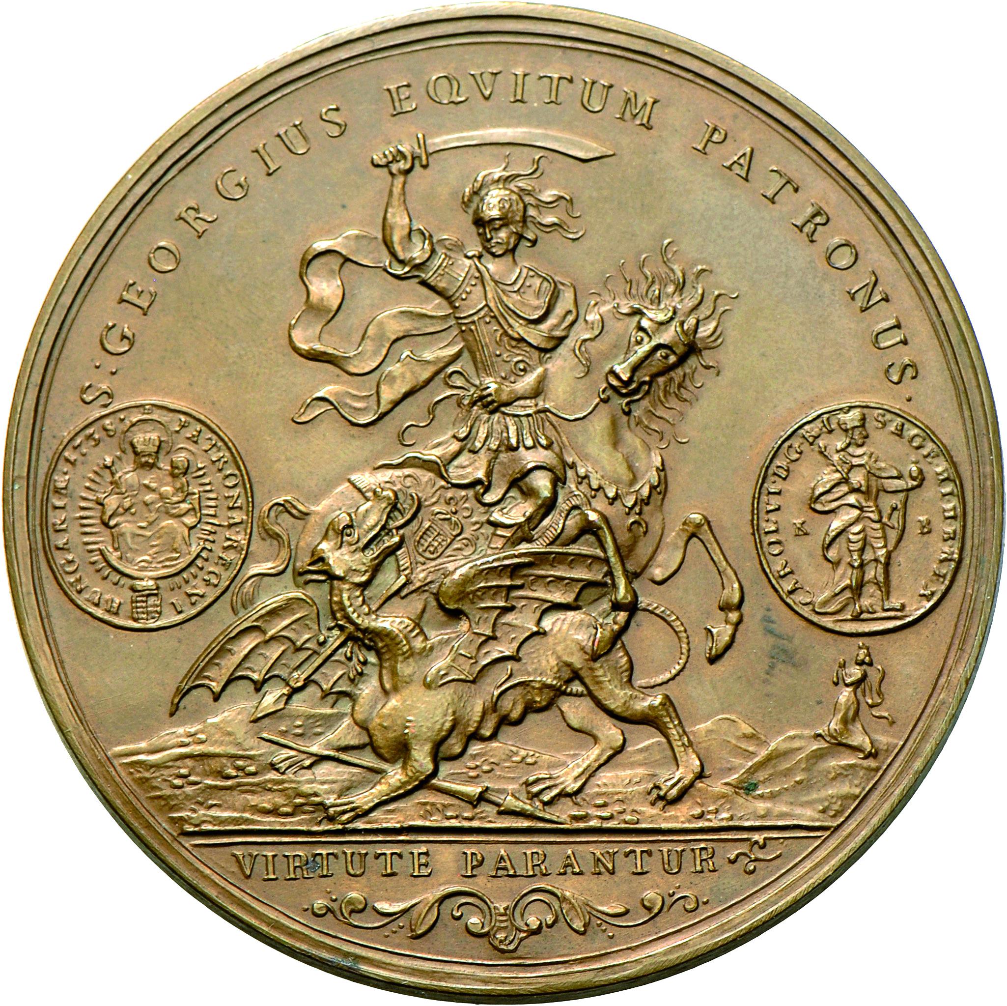 Lot 4805 - Medaillen Deutschland | Münzen  -  Auktionshaus Christoph Gärtner GmbH & Co. KG Banknotes & Coins Auction #39 Day 2
