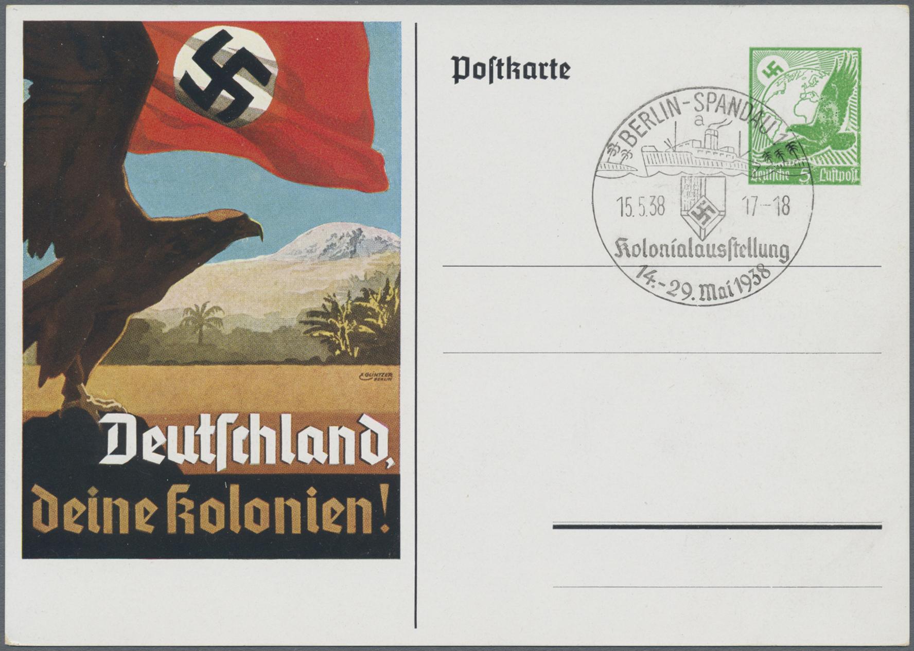 Lot 23467 - Deutsches Reich - Privatganzsachen  -  Auktionshaus Christoph Gärtner GmbH & Co. KG 50th Auction Anniversary Auction - Day 7