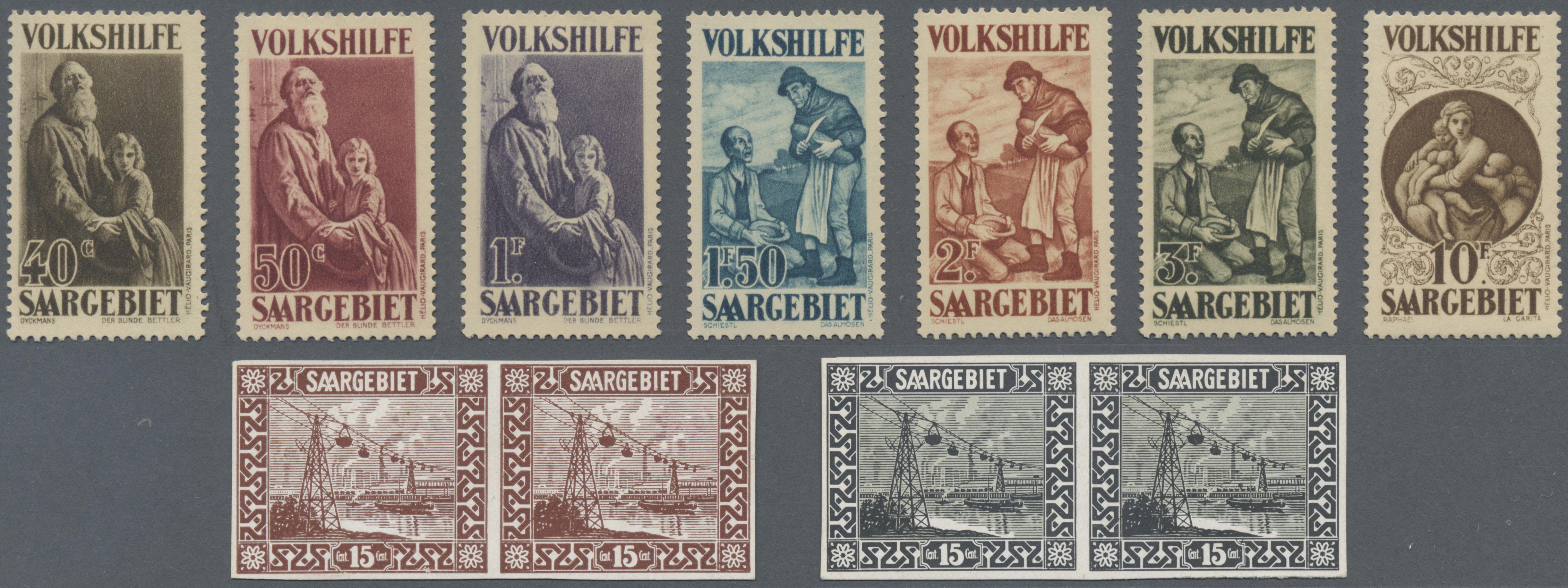 Lot 14751 - Deutsche Abstimmungsgebiete: Saargebiet  -  Auktionshaus Christoph Gärtner GmbH & Co. KG 51th Auction - Day 5