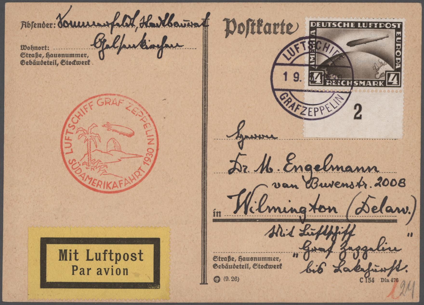 Lot 26119 - nachlässe  -  Auktionshaus Christoph Gärtner GmbH & Co. KG Sale #46 Gollcetions Germany - including the suplement