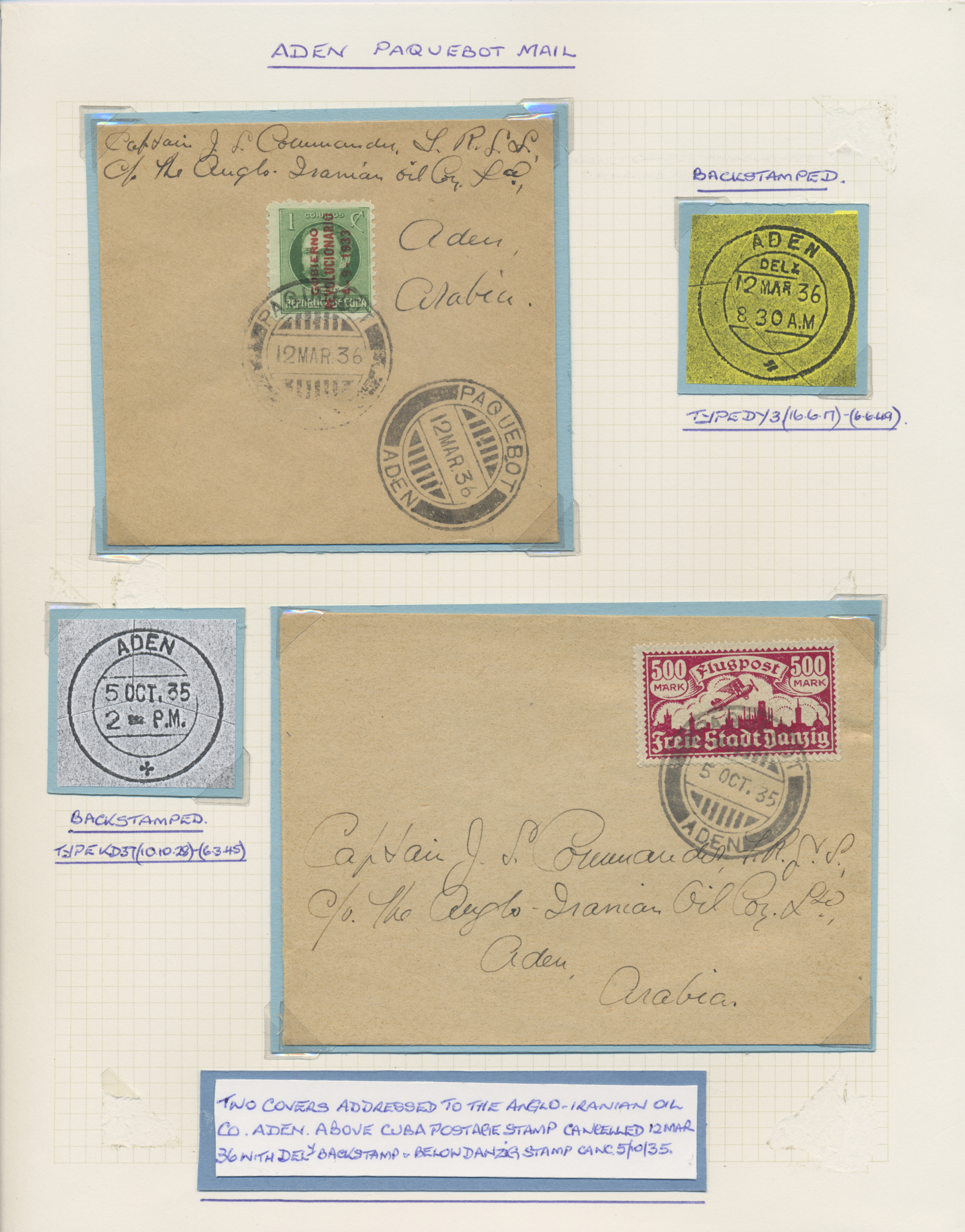 Lot 26601 - aden  -  Auktionshaus Christoph Gärtner GmbH & Co. KG Sale #46 Gollcetions Germany - including the suplement