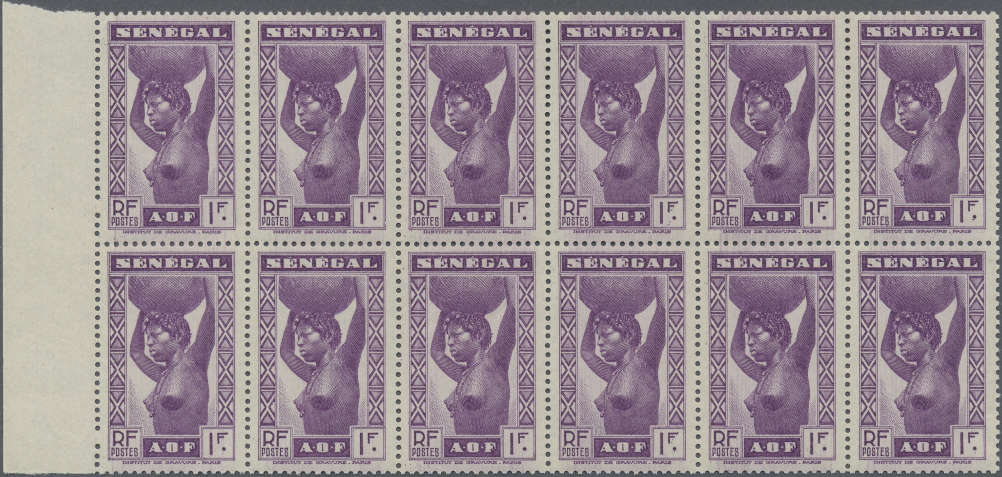 Lot 26897 - senegal  -  Auktionshaus Christoph Gärtner GmbH & Co. KG Sale #46 Gollcetions Germany - including the suplement