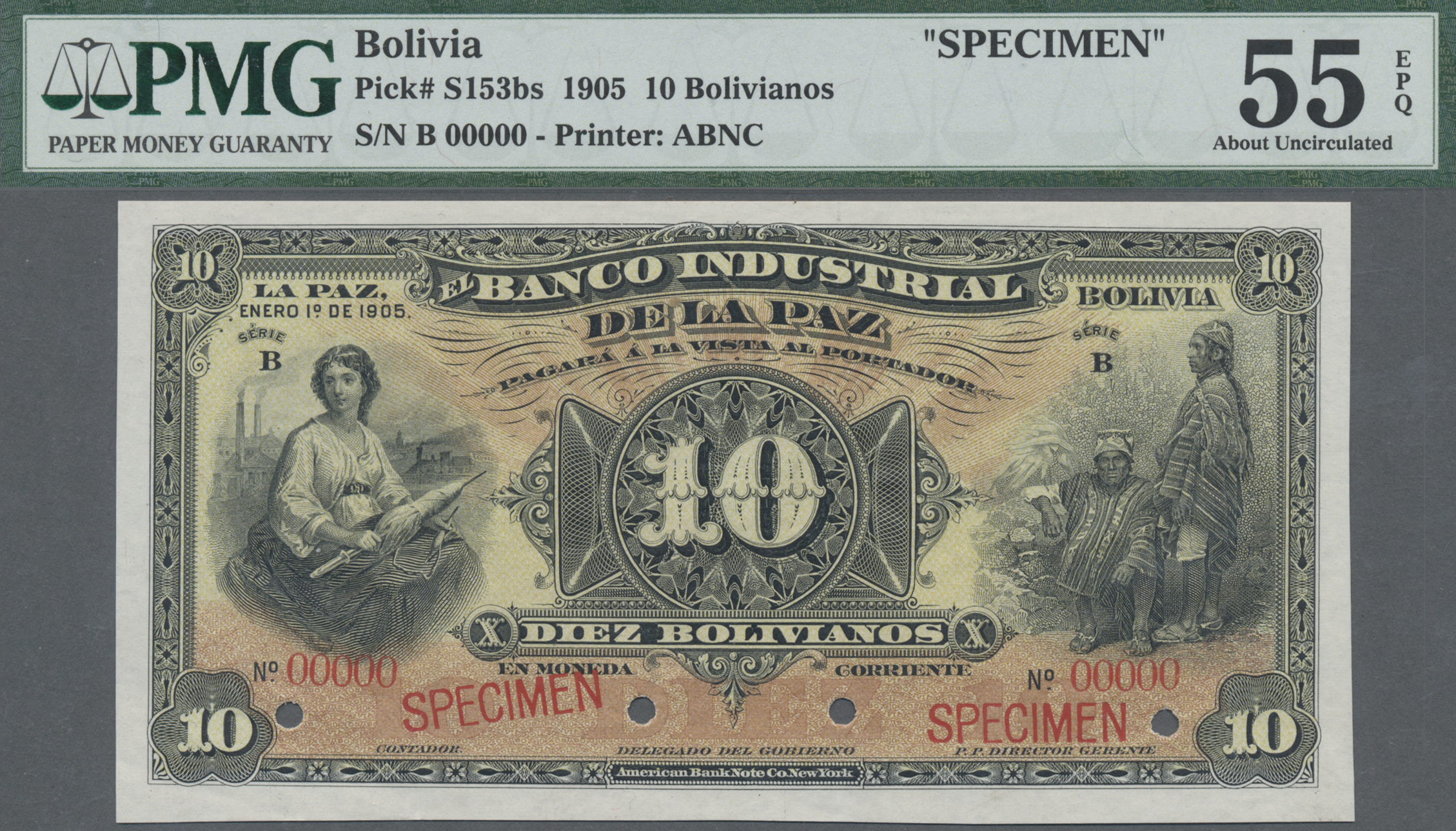 Lot 00065 - Bolivia / Bolivien | Banknoten  -  Auktionshaus Christoph Gärtner GmbH & Co. KG Sale #48 The Banknotes