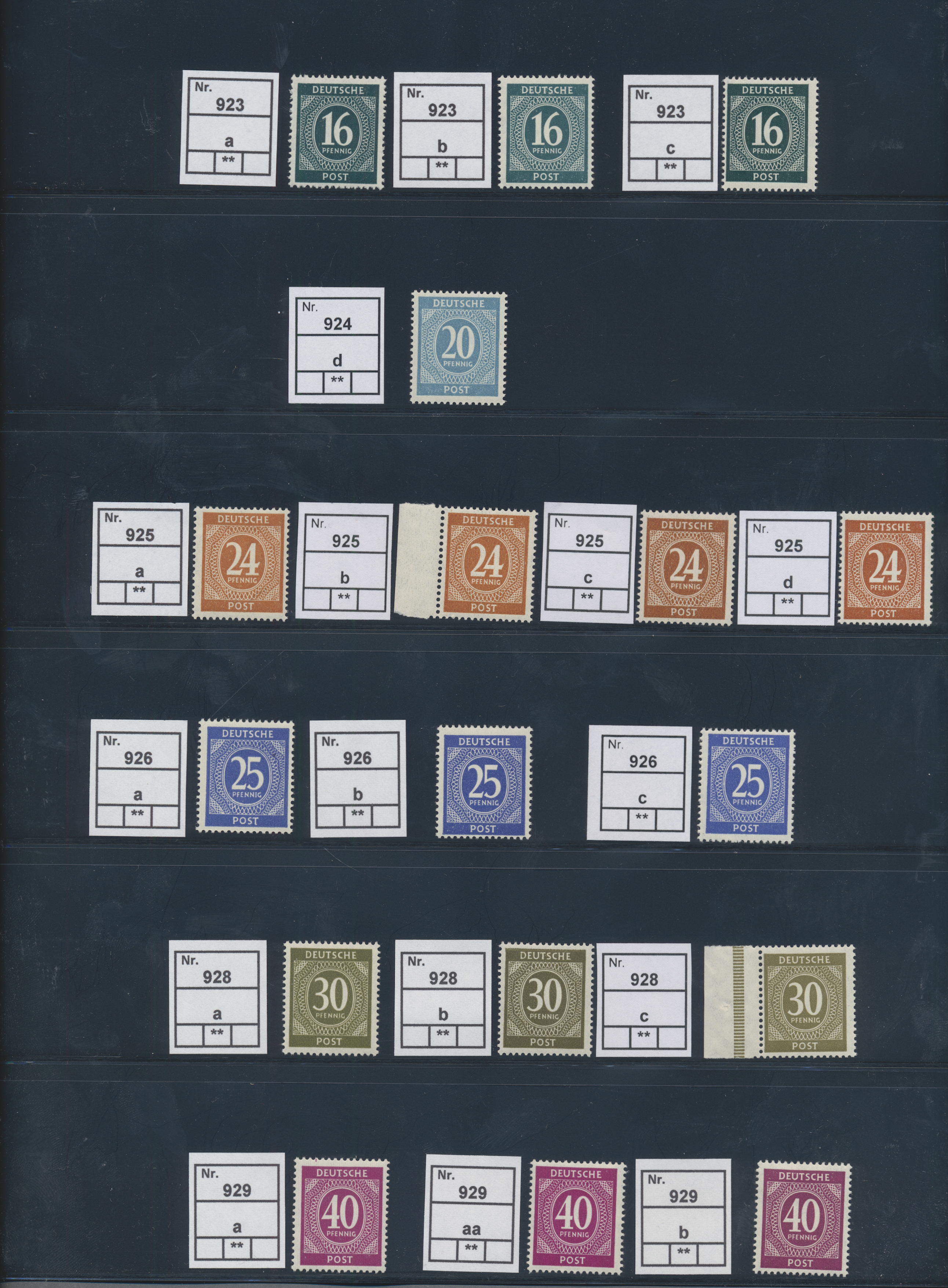 Lot 23989 - Alliierte Besetzung - Gemeinschaftsausgabe  -  Auktionshaus Christoph Gärtner GmbH & Co. KG 50th Auction Anniversary Auction - Day 7