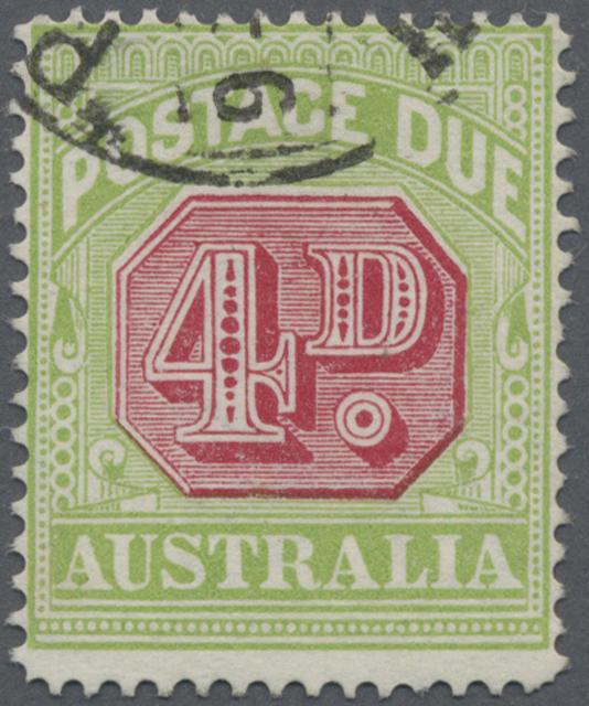 Lot 07862 - Australien - Portomarken  -  Auktionshaus Christoph Gärtner GmbH & Co. KG 50th Auction Anniversary Auction - Day 3