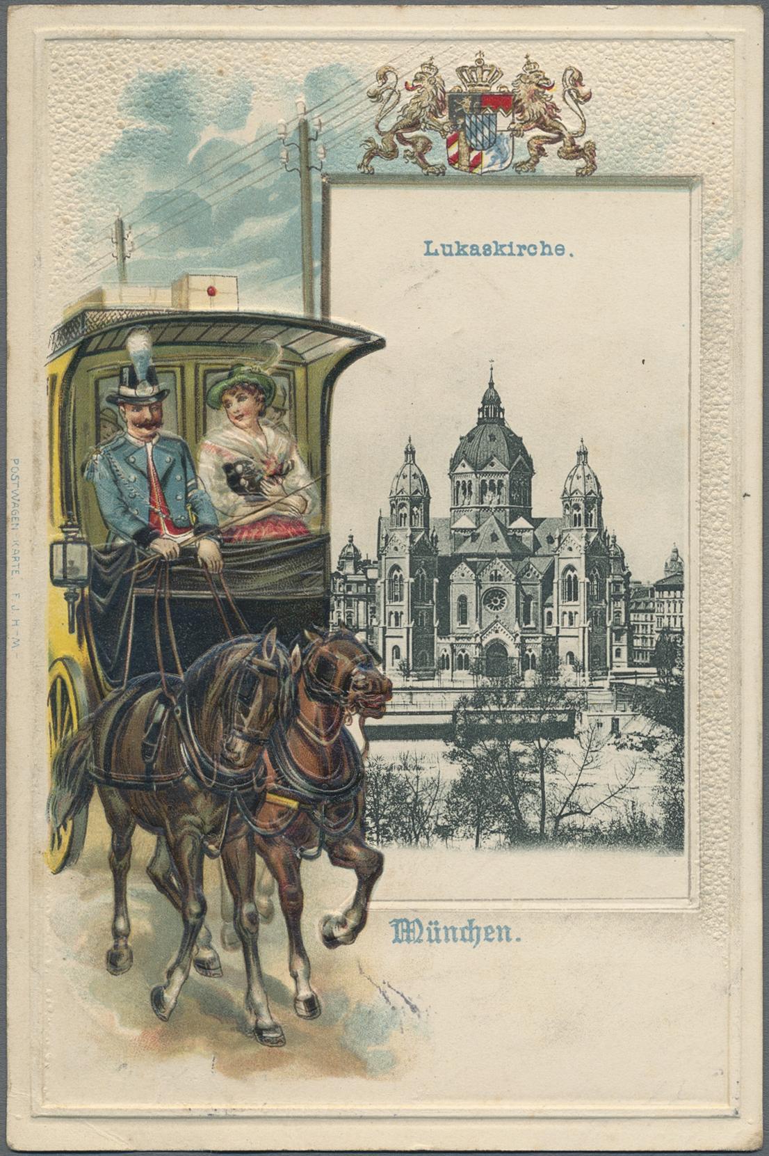 Lot 04371 - Ansichtskarten: Bayern  -  Auktionshaus Christoph Gärtner GmbH & Co. KG Special auction