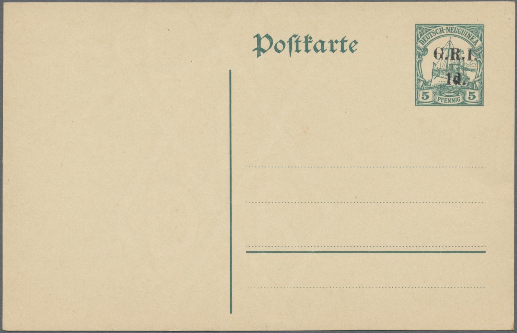 Lot 22622 - Deutsch-Neuguinea - Britische Besetzung  -  Auktionshaus Christoph Gärtner GmbH & Co. KG Sale #44 Germany, Picture Post cards