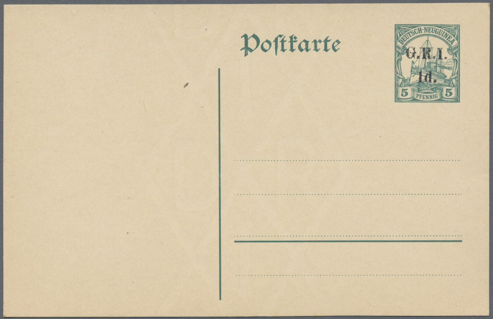 Lot 22624 - Deutsch-Neuguinea - Britische Besetzung  -  Auktionshaus Christoph Gärtner GmbH & Co. KG Sale #44 Germany, Picture Post cards