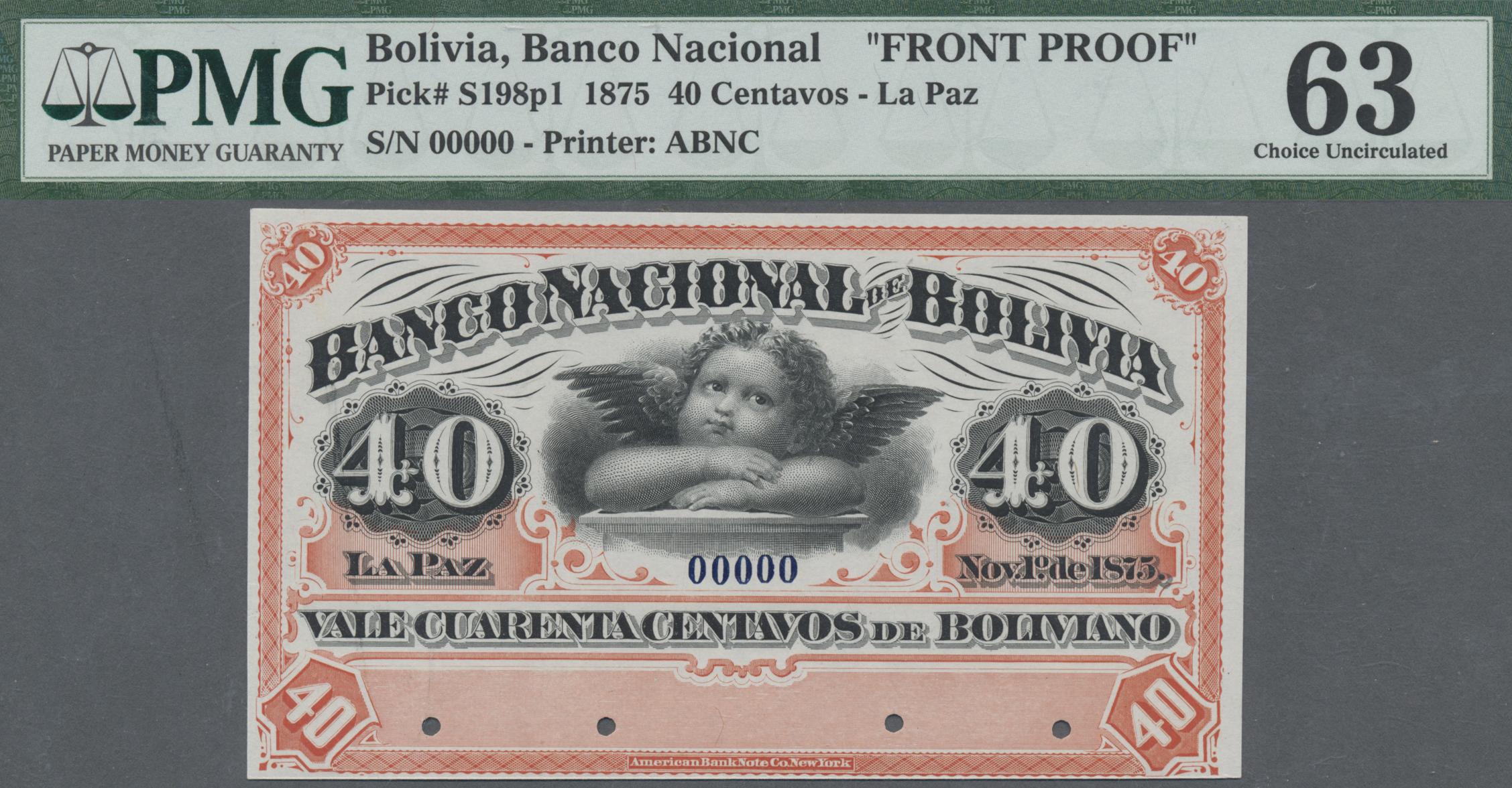 Lot 00066 - Bolivia / Bolivien | Banknoten  -  Auktionshaus Christoph Gärtner GmbH & Co. KG Sale #48 The Banknotes