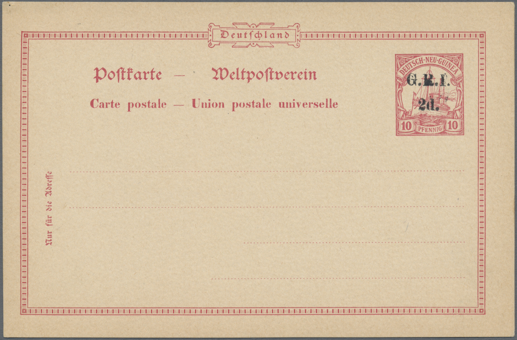 Lot 22626 - Deutsch-Neuguinea - Britische Besetzung  -  Auktionshaus Christoph Gärtner GmbH & Co. KG Sale #44 Germany, Picture Post cards