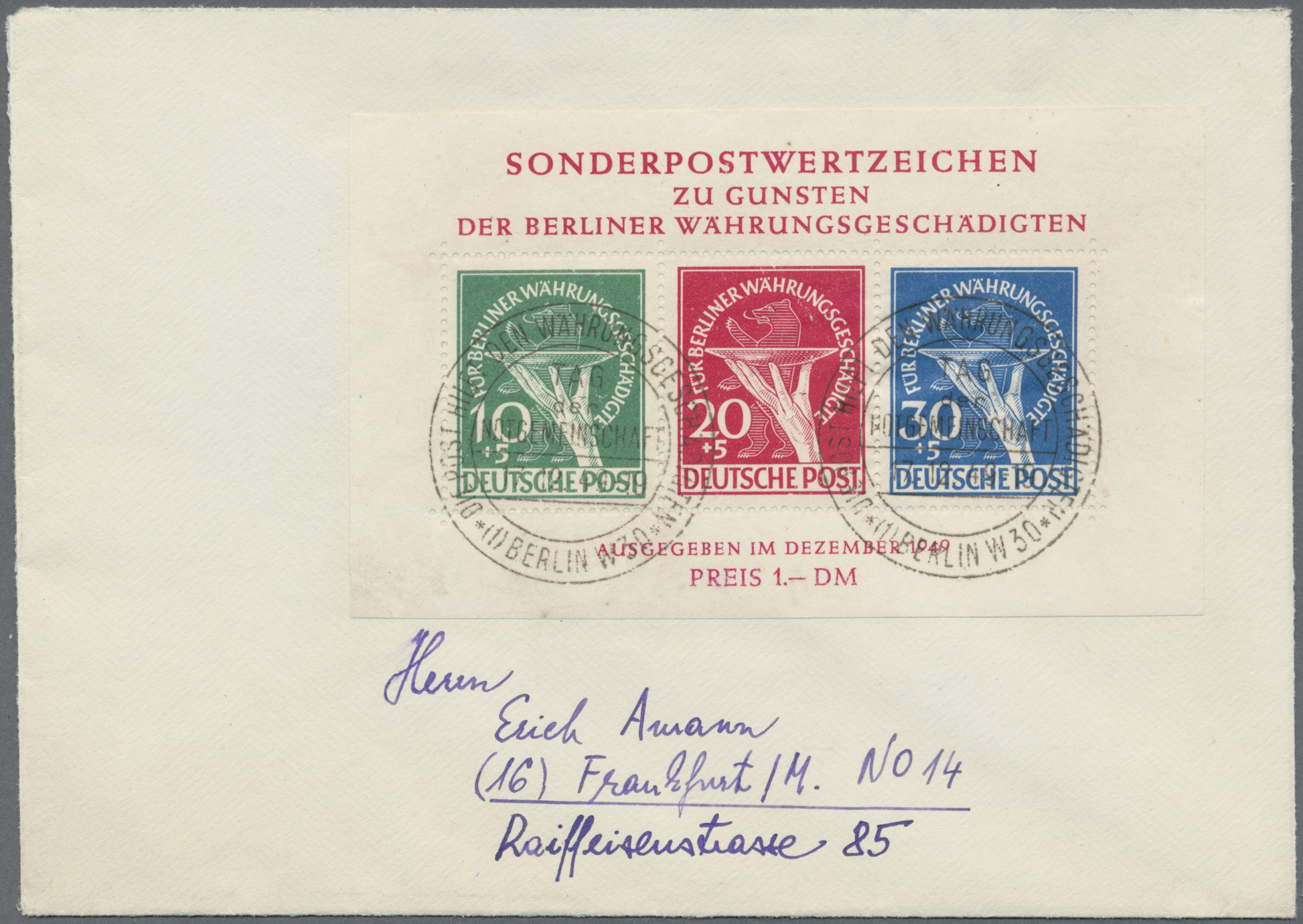Lot 38087 - bundesrepublik und berlin  -  Auktionshaus Christoph Gärtner GmbH & Co. KG Collections Germany,  Collections Supplement, Surprise boxes #39 Day 7