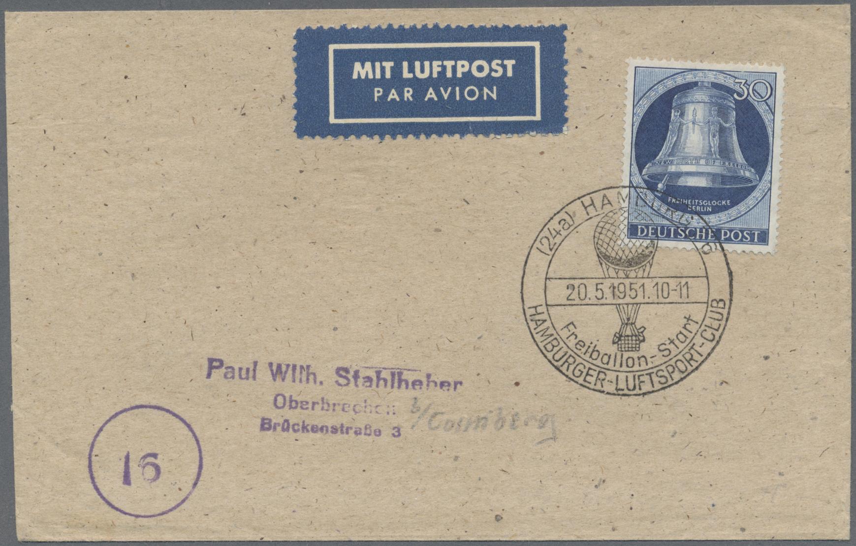 Lot 38087 - bundesrepublik und berlin  -  Auktionshaus Christoph Gärtner GmbH & Co. KG Collections Germany,  Collections Supplement, Surprise boxes #39 Day 7