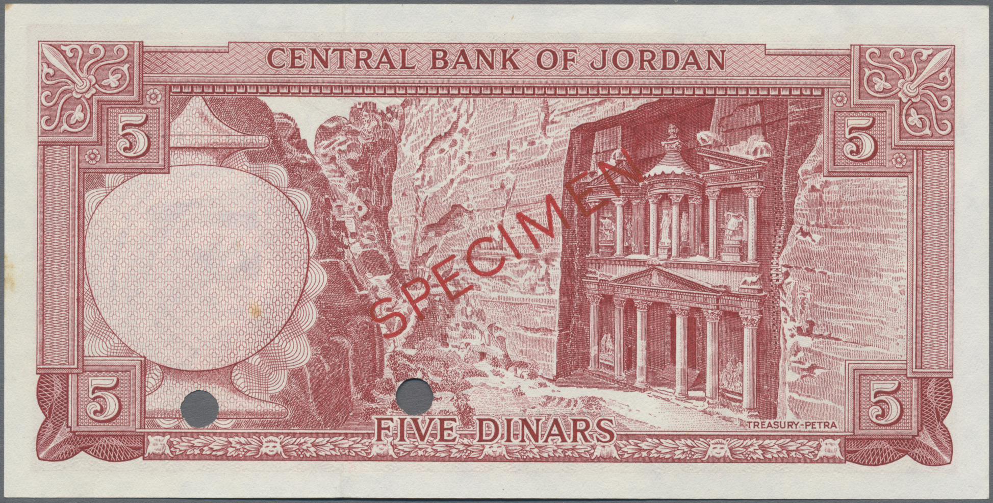 Lot 00484 - Jordan / Jordanien | Banknoten  -  Auktionshaus Christoph Gärtner GmbH & Co. KG Sale #48 The Banknotes