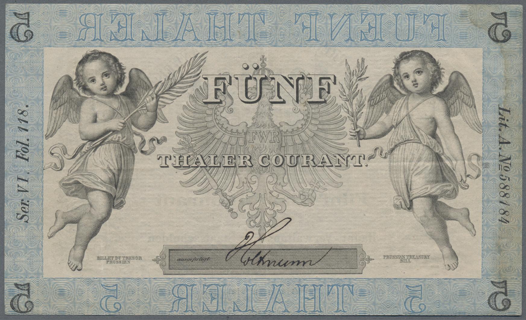 Lot 03303 - Deutschland - Altdeutsche Staaten | Banknoten  -  Auktionshaus Christoph Gärtner GmbH & Co. KG Sale #45 Banknotes Germany/Numismatics