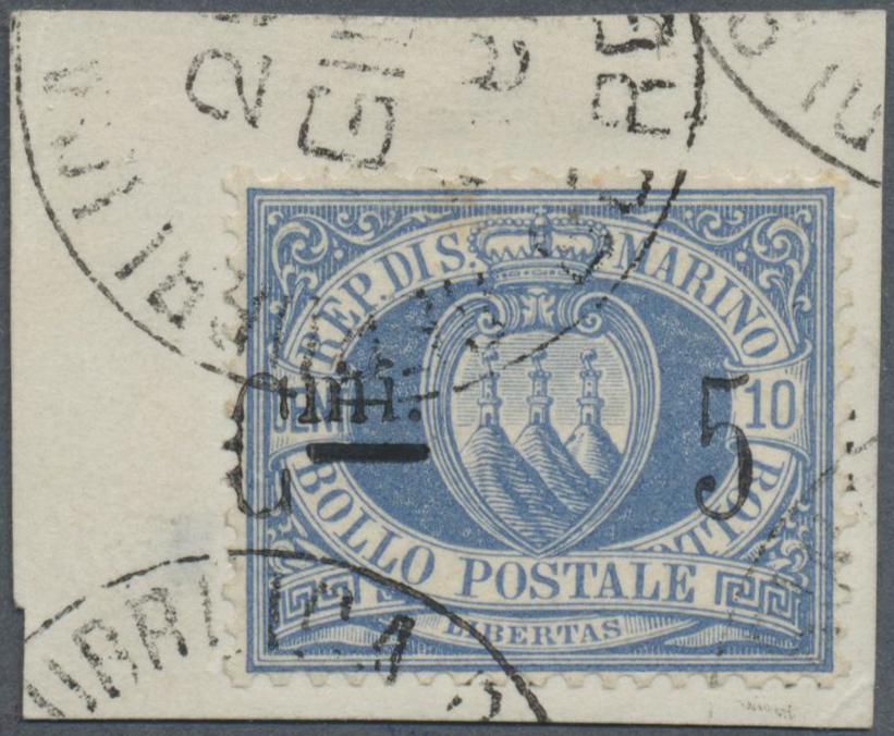 Lot 1070 - San Marino  -  Auktionshaus Christoph Gärtner GmbH & Co. KG Auction #41 Special auction part one