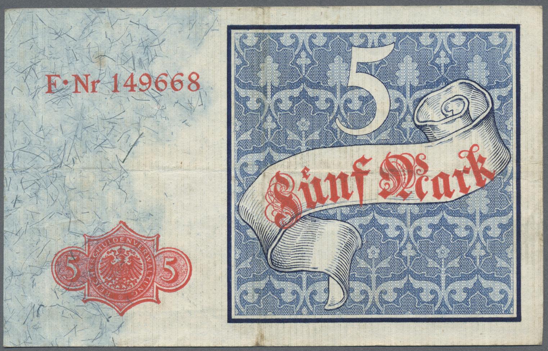 Lot 03316 - Deutschland - Deutsches Reich bis 1945 | Banknoten  -  Auktionshaus Christoph Gärtner GmbH & Co. KG Sale #45 Banknotes Germany/Numismatics