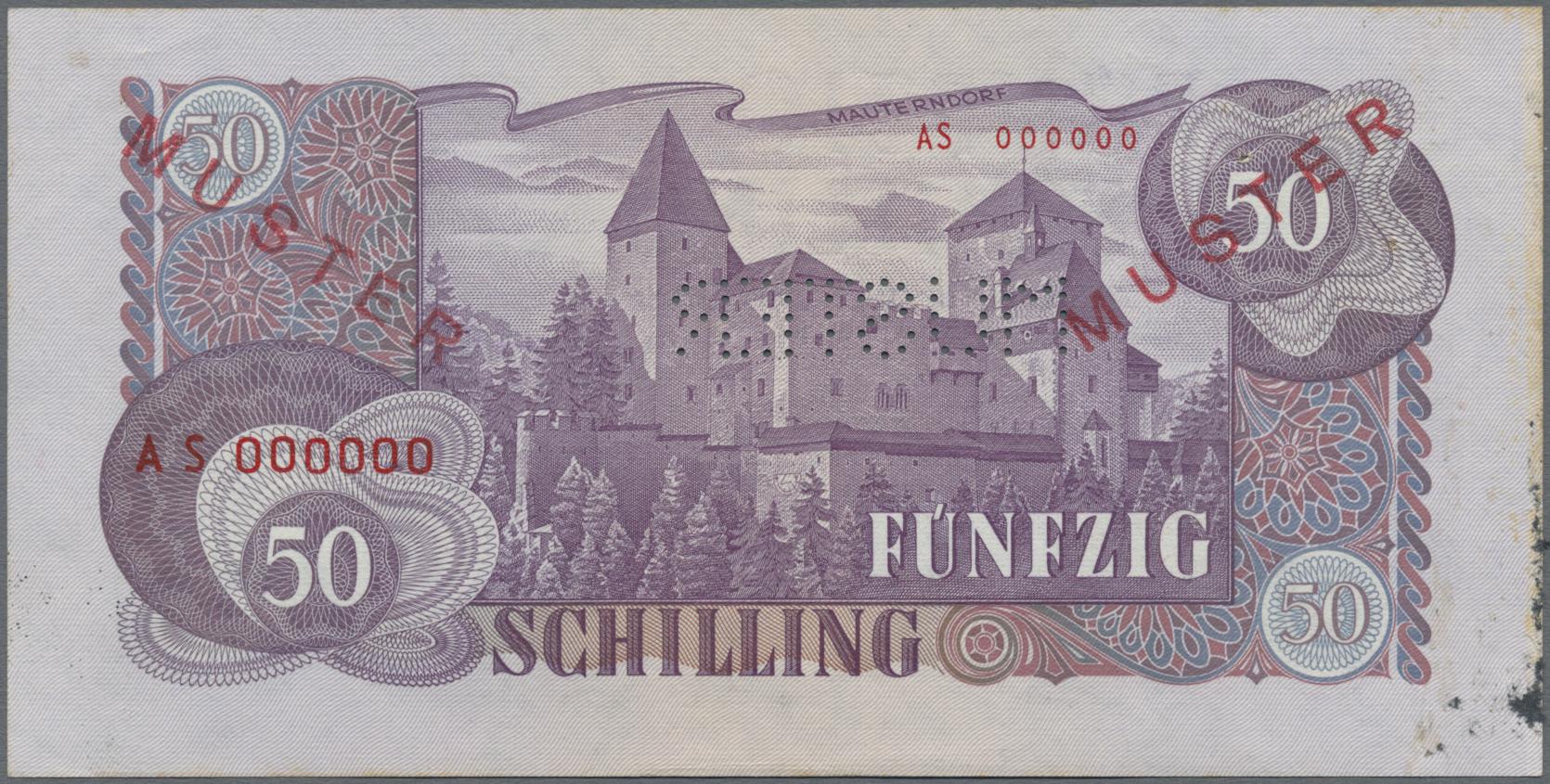 Lot 00042 - Austria / Österreich | Banknoten  -  Auktionshaus Christoph Gärtner GmbH & Co. KG Sale #48 The Banknotes