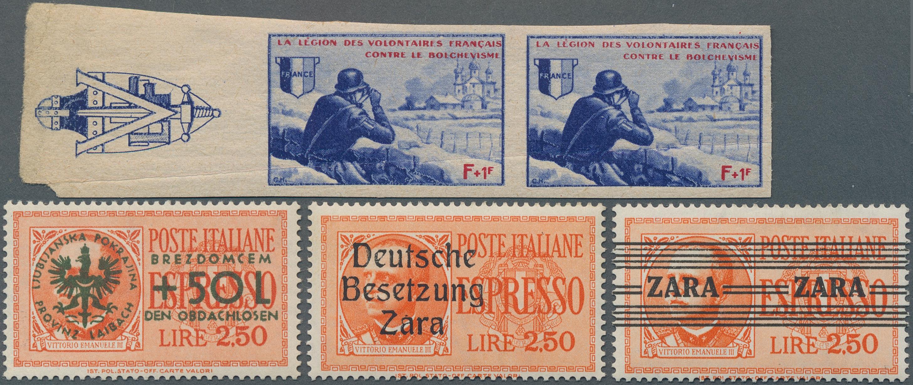 Lot 37091 - deutsche besetzung ii. wk  -  Auktionshaus Christoph Gärtner GmbH & Co. KG Sale #44 Collections Germany