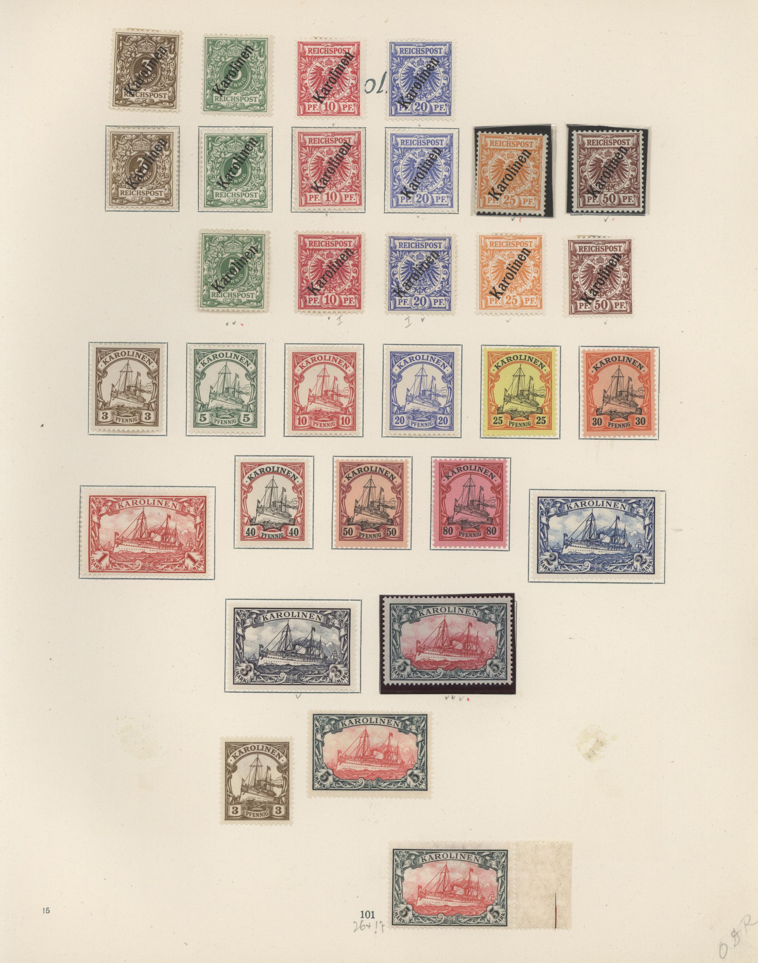Lot 37202 - Deutsche Auslandspostämter + Kolonien  -  Auktionshaus Christoph Gärtner GmbH & Co. KG Collections Germany,  Collections Supplement, Surprise boxes #39 Day 7