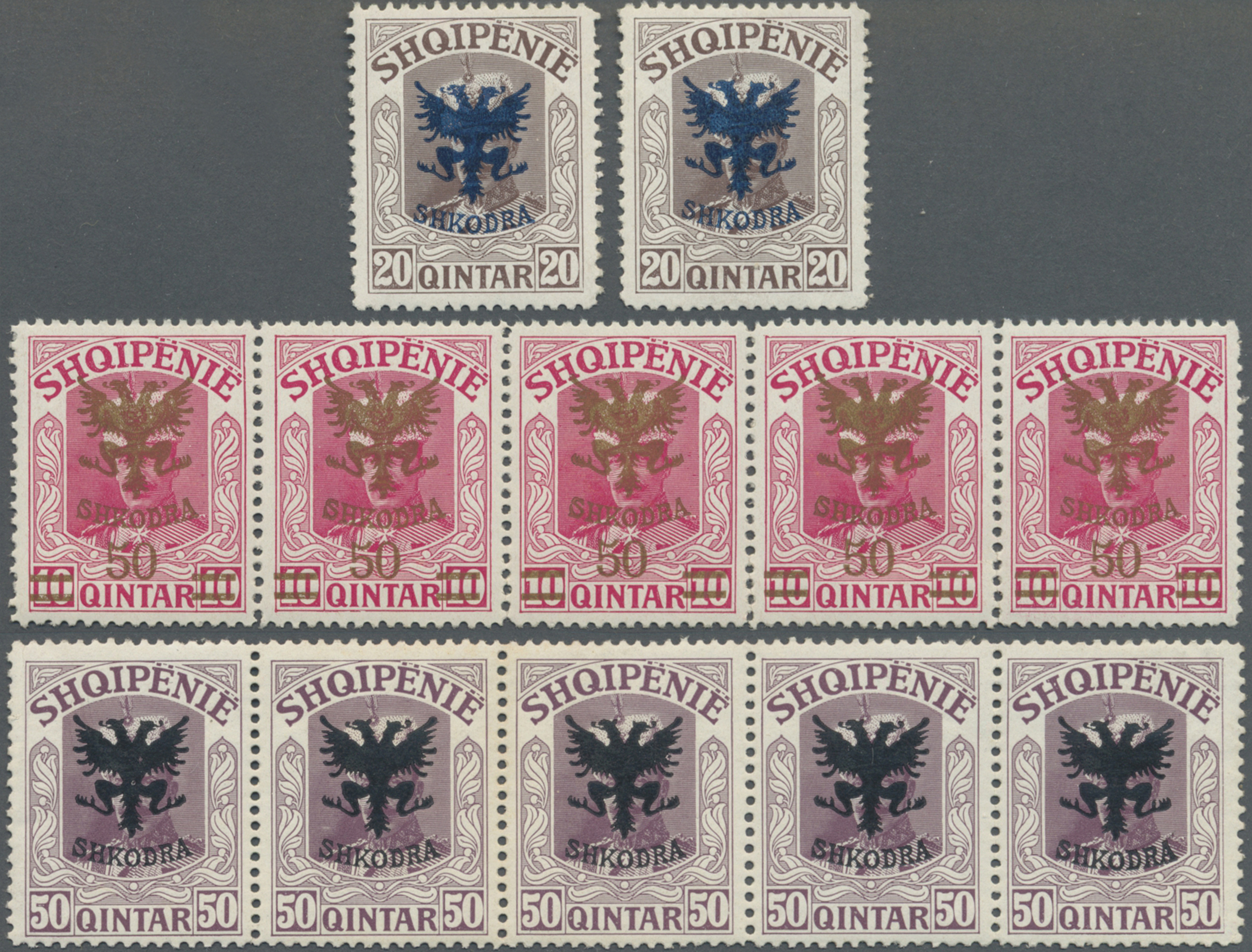 Lot 16370 - albanien  -  Auktionshaus Christoph Gärtner GmbH & Co. KG Sale #48 collections Overseas  Airmail / Ship mail & Thematics