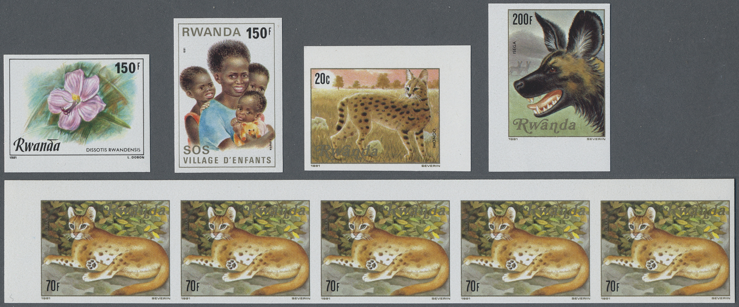 Lot 29666 - ruanda  -  Auktionshaus Christoph Gärtner GmbH & Co. KG Sale #44 Collections Overseas, Europe
