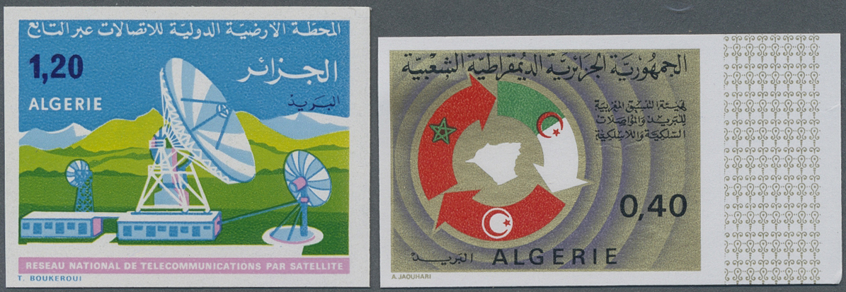 Lot 12829 - algerien  -  Auktionshaus Christoph Gärtner GmbH & Co. KG Sale #48 collections Overseas  Airmail / Ship mail & Thematics