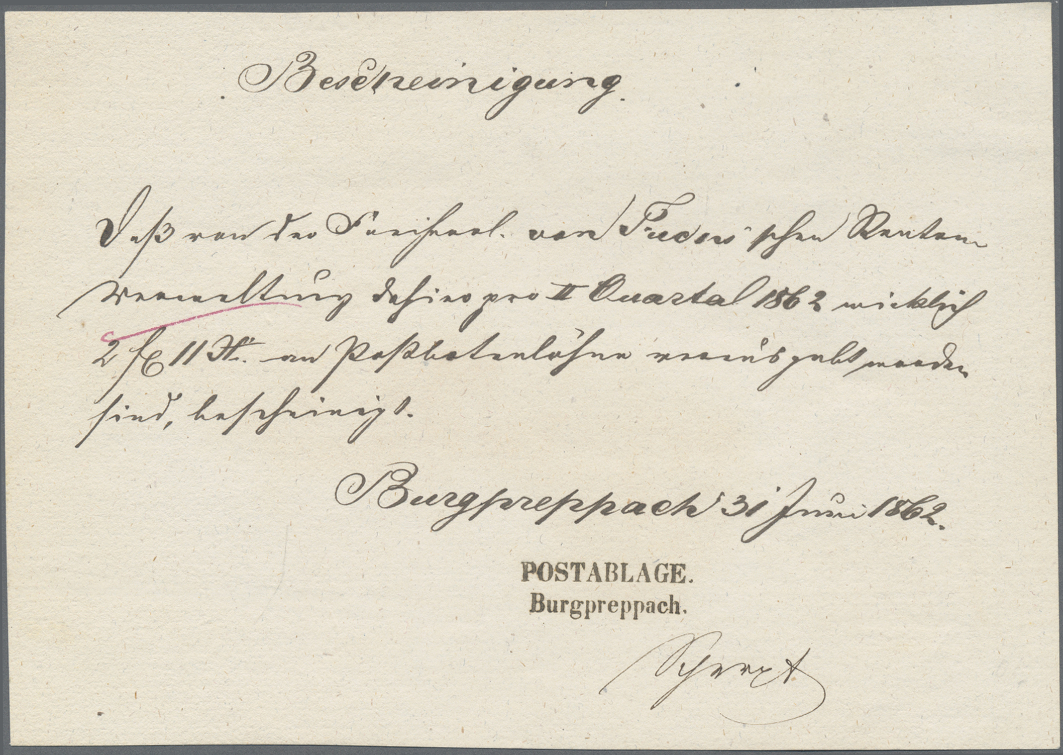 Lot 05278 - Bayern - Postablagestempel  -  Auktionshaus Christoph Gärtner GmbH & Co. KG 51th Auction - Day 3