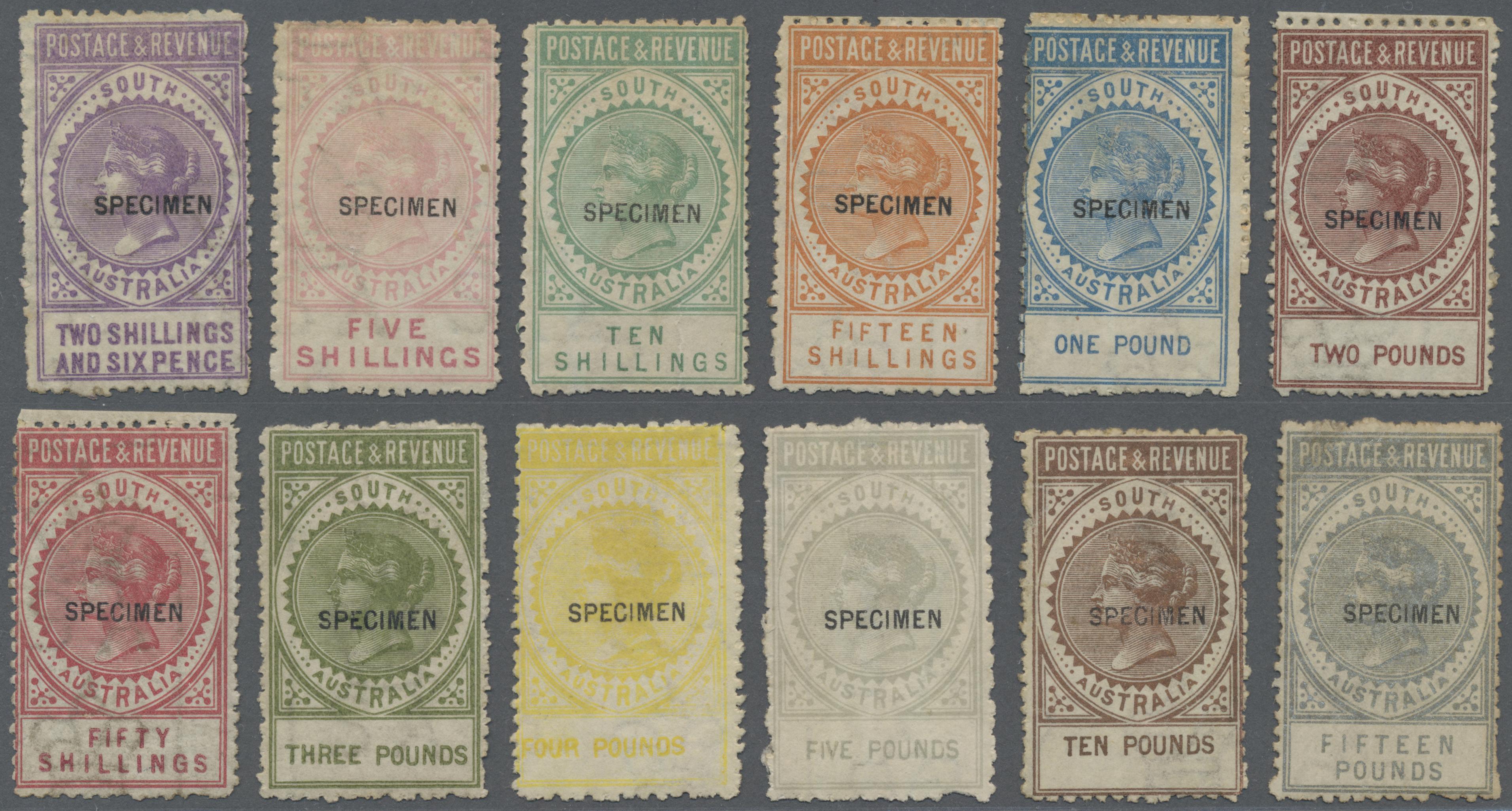 Lot 03135 - südaustralien  -  Auktionshaus Christoph Gärtner GmbH & Co. KG Sale #49 Special catalogue Australia, USA – Wells Fargo