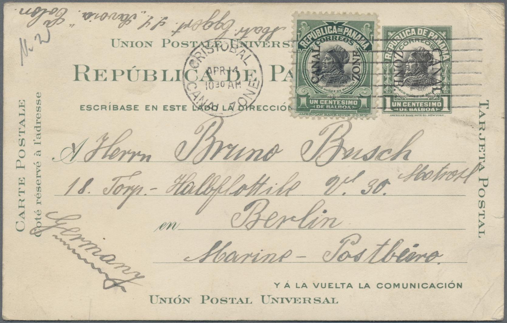 Lot 14763 - Vereinigte Staaten von Amerika - Ganzsachen  -  Auktionshaus Christoph Gärtner GmbH & Co. KG Sale #48 collections Overseas  Airmail / Ship mail & Thematics