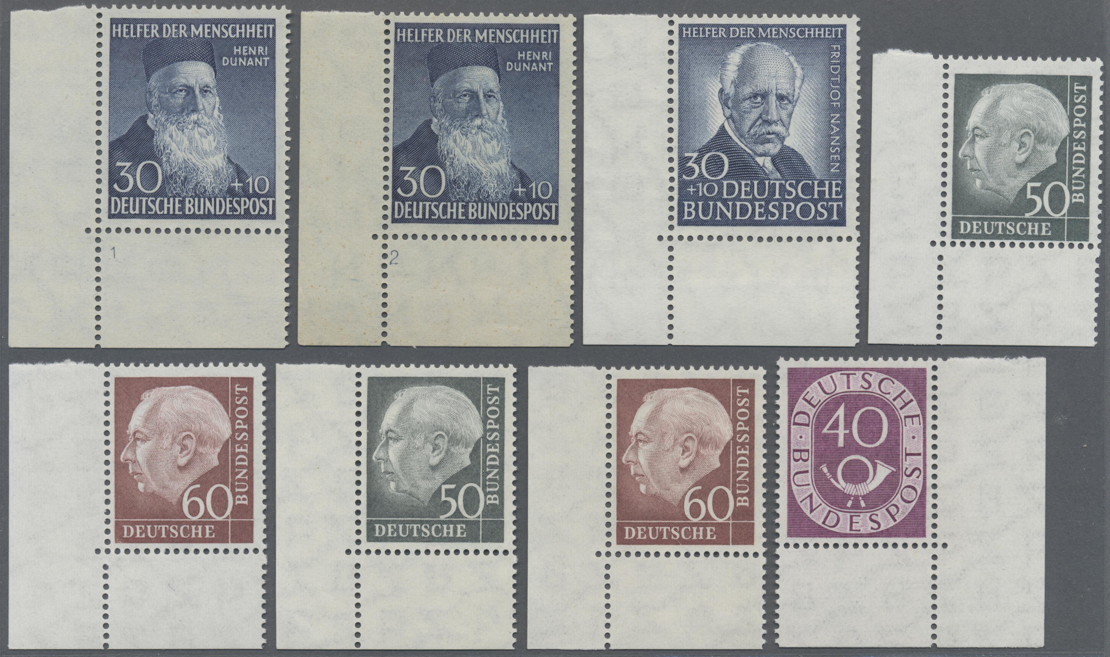 Lot 38093 - bundesrepublik und berlin  -  Auktionshaus Christoph Gärtner GmbH & Co. KG Collections Germany,  Collections Supplement, Surprise boxes #39 Day 7