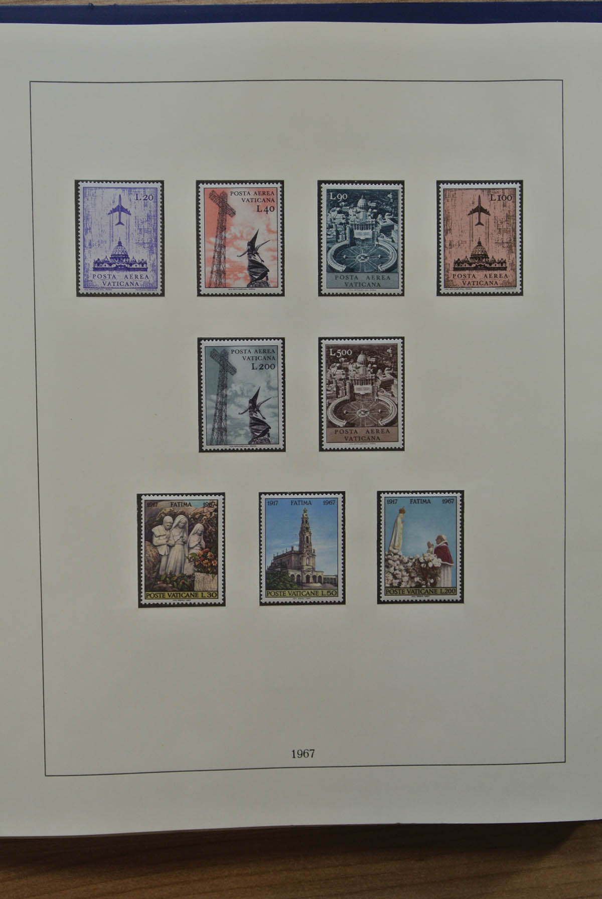 a48fc9d37bd Stamp Auction - vatikan - Sale #43 Asia, Collections Overseas ...