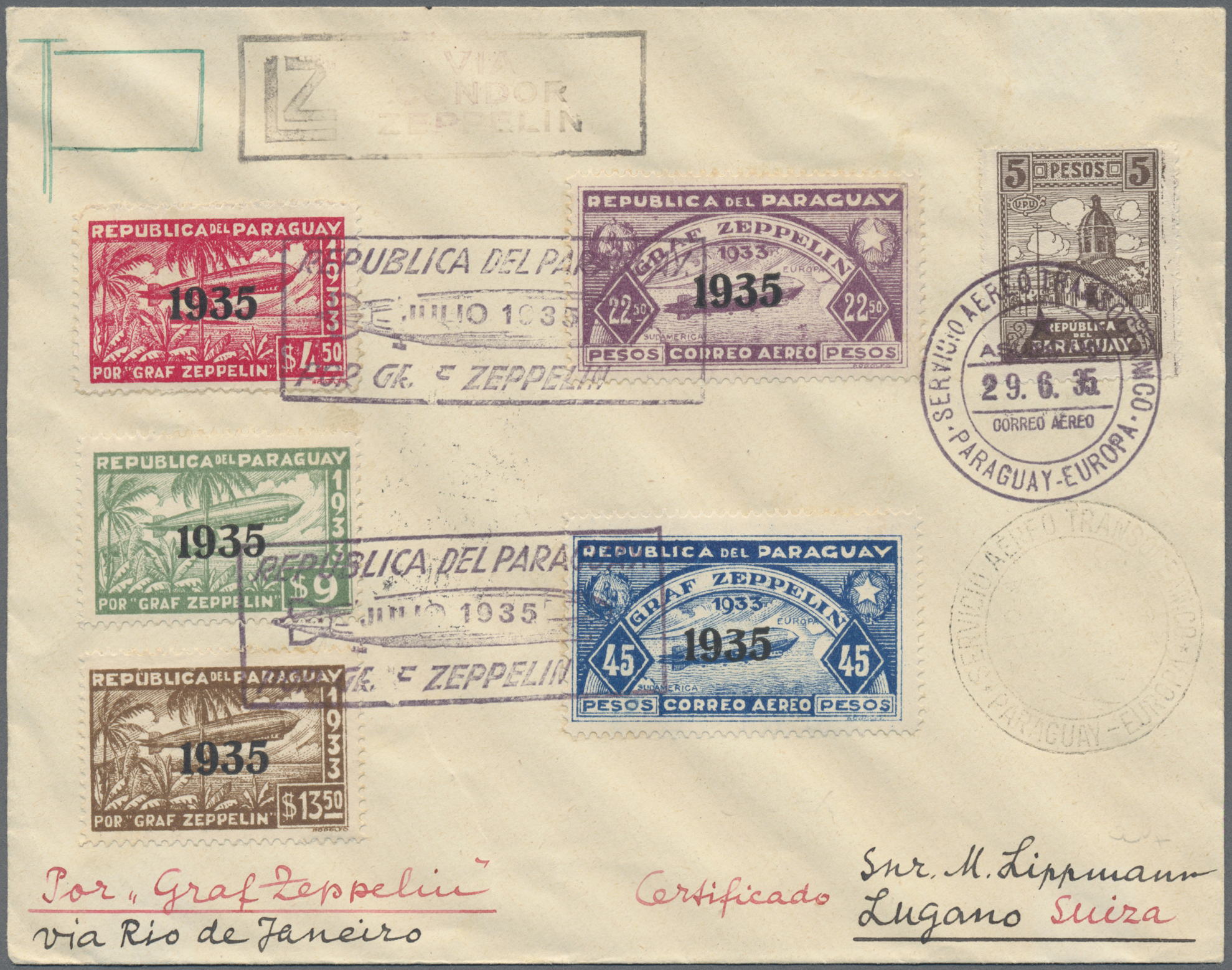 Lot 09874 - Paraguay  -  Auktionshaus Christoph Gärtner GmbH & Co. KG 51th Auction - Day 4